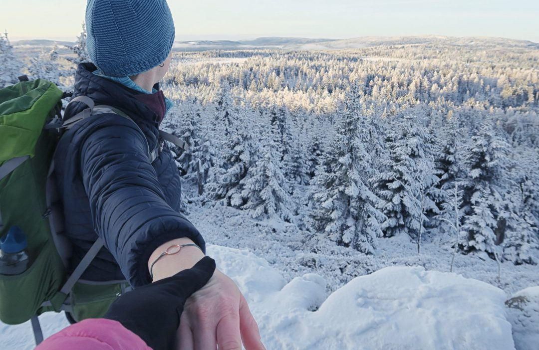 Alpenblick Armband Rosevergoldet Winter Harz_8297 Webseite