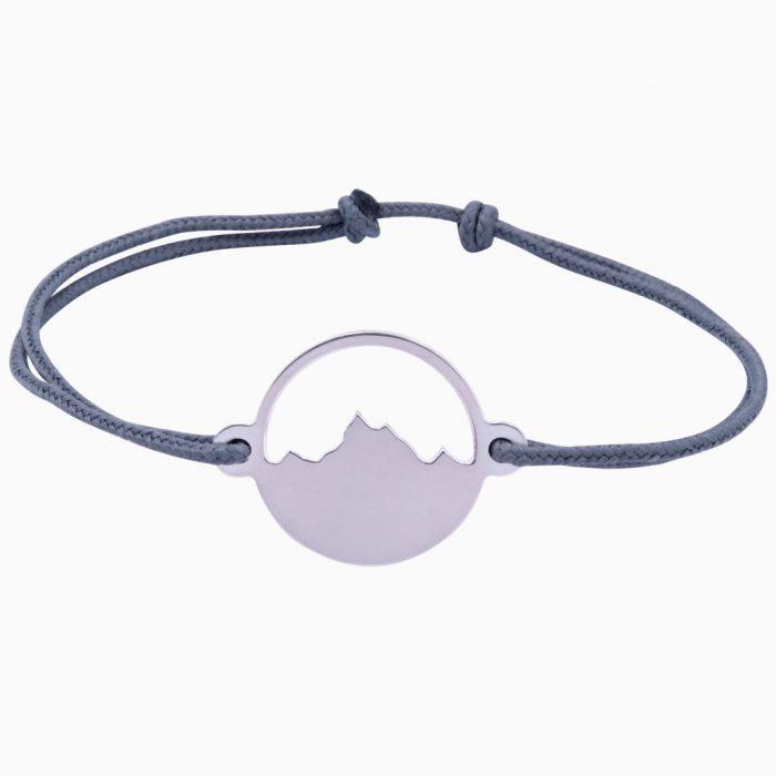 Alpenblick Armband Silber Freigestellt Grau Webseite 2020