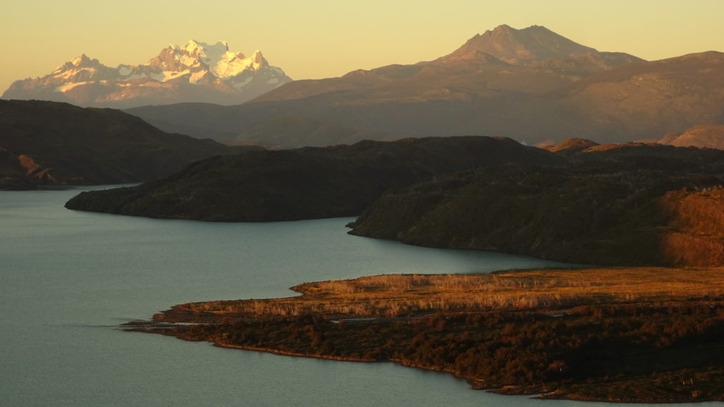 4. Highlight im Torres del Paine: Sonnenaufgang