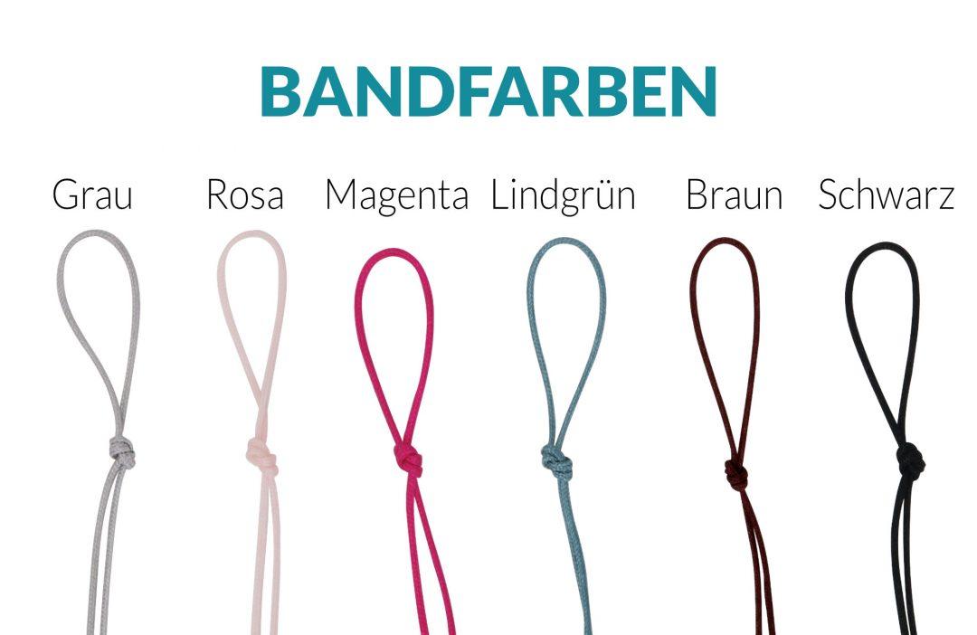 Fjella Bandfarben Armbänder Freigestellt Dez 2019