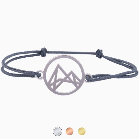 Höhenlinien Armband Silber Grau Freigestellt Buttons 2020-11