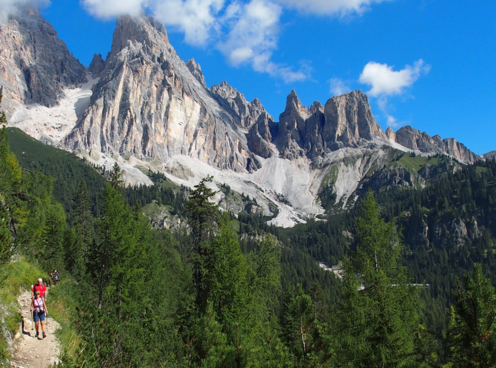 Traumhaftes Dolomitenpanorama
