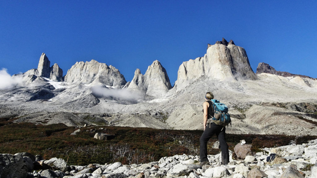 1. Highlight im Torres del Paine: Britannico Lookout