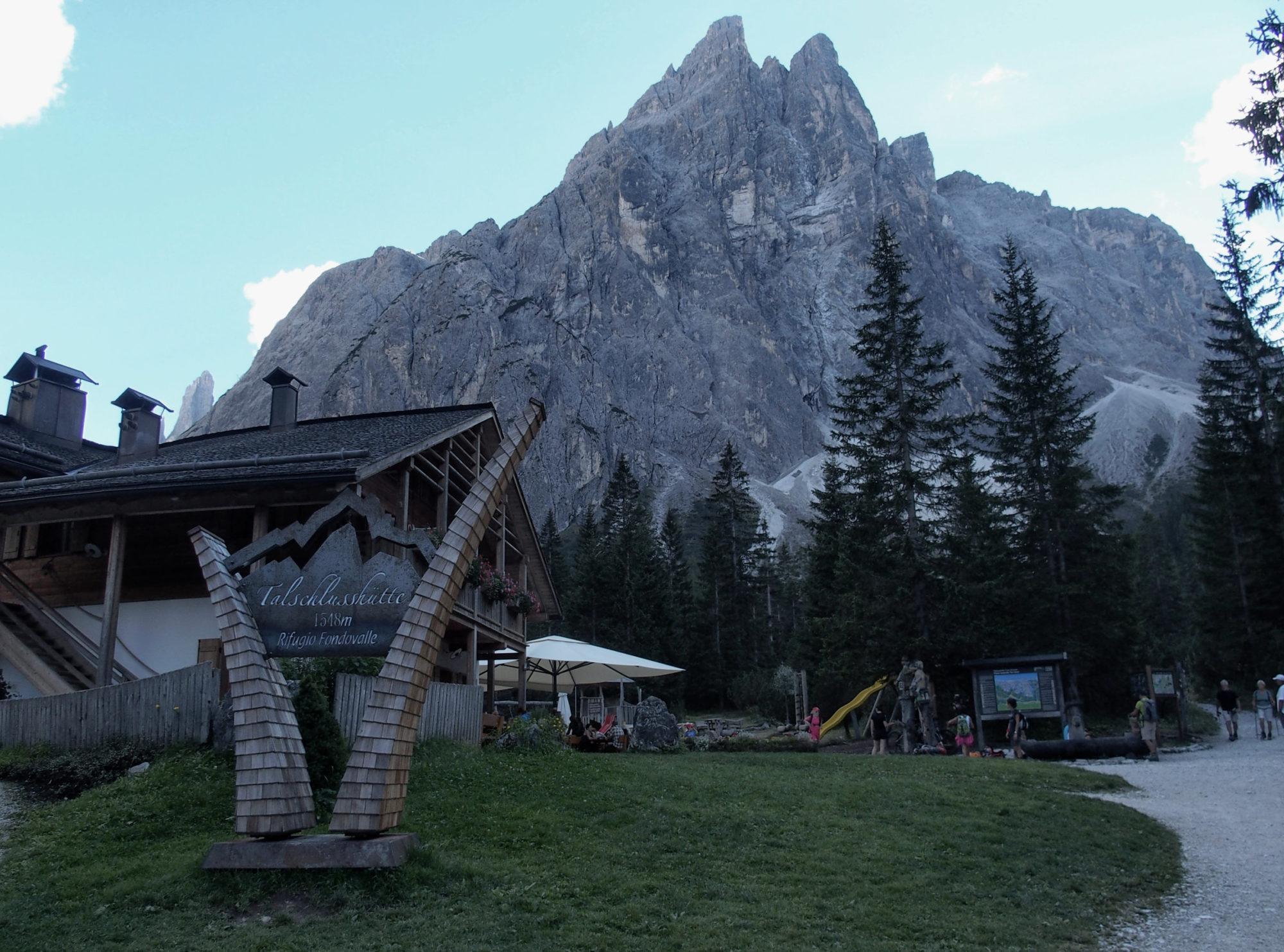 Zurück an der Talschlußhütte