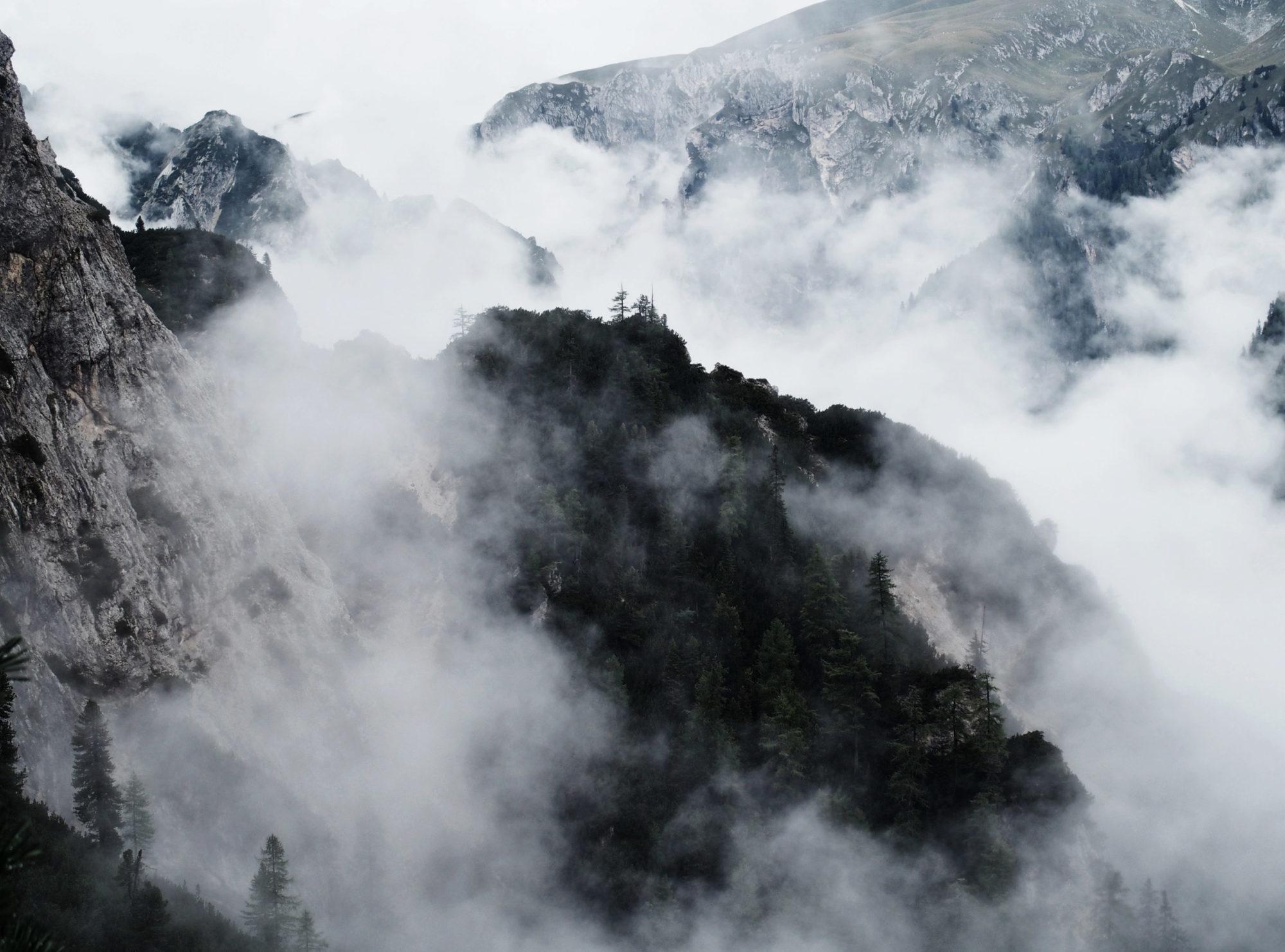 So viele Wolken haben schon was besonderes an sich