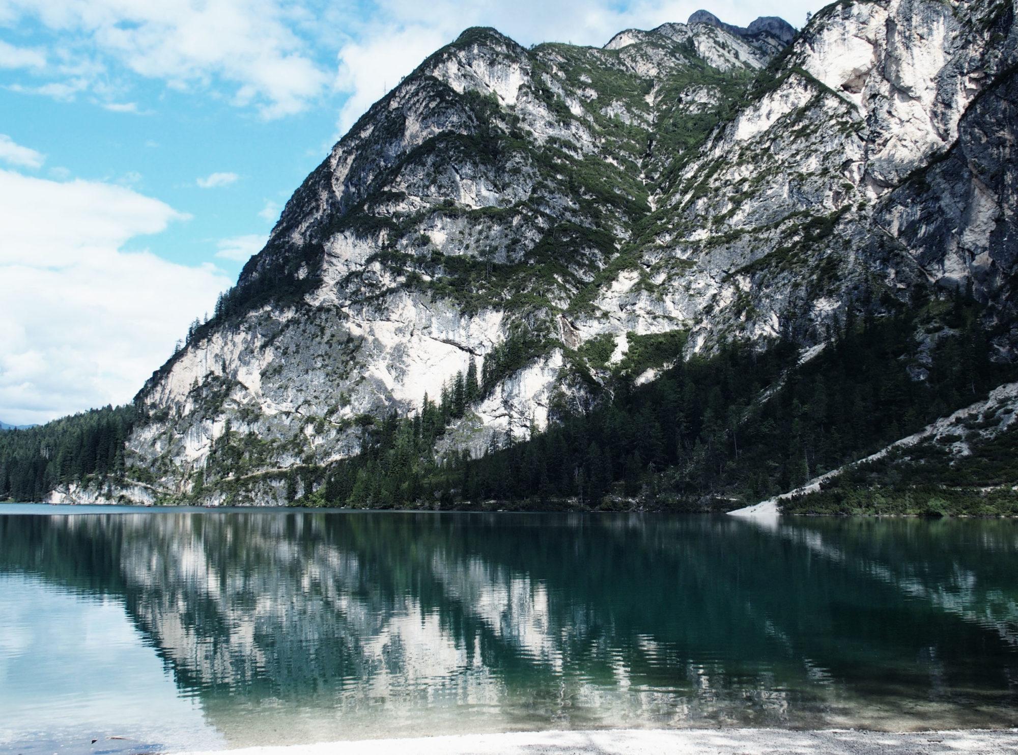 Ein Traum wie sich die Berge spiegeln!