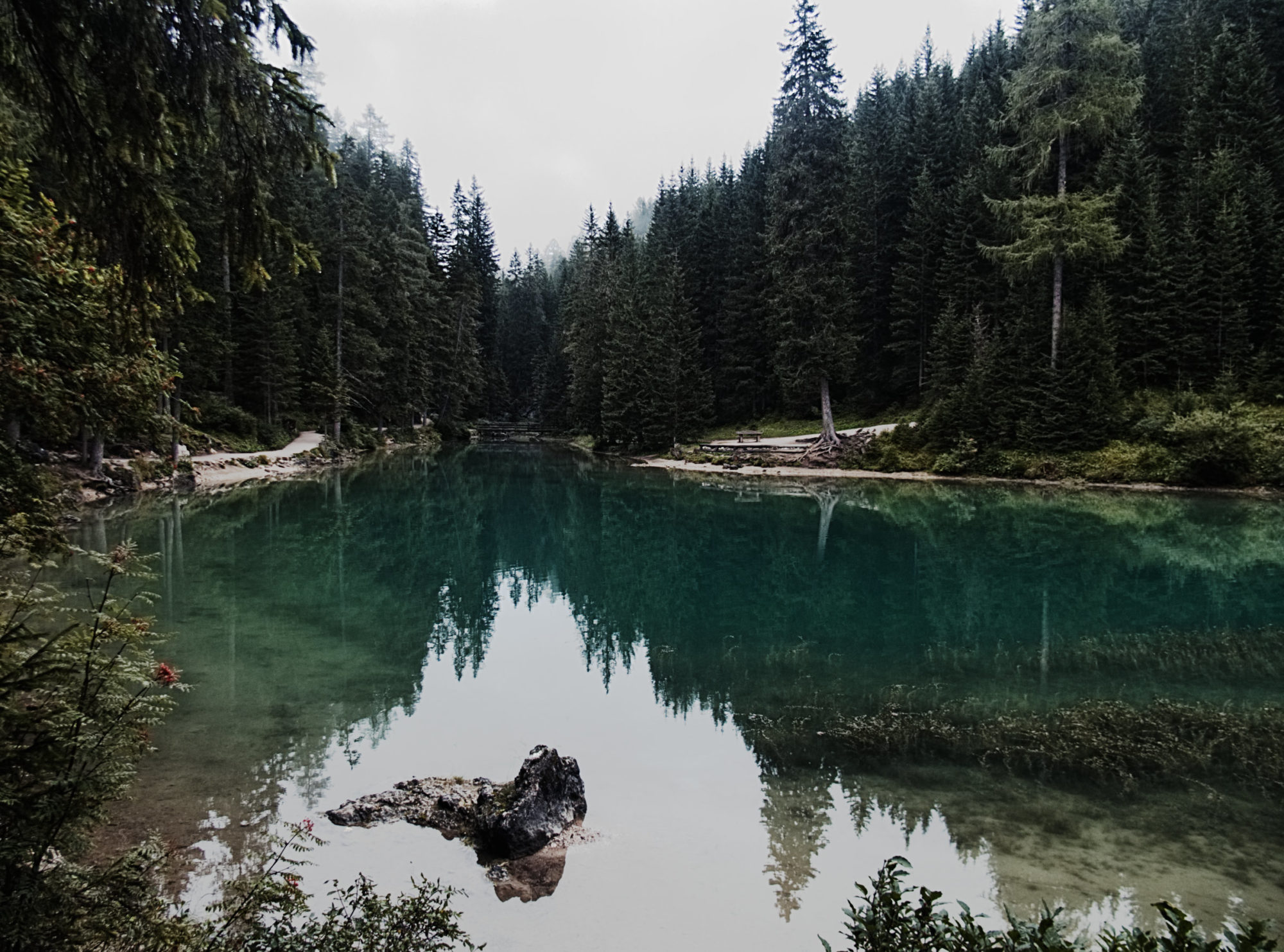 Wieder und wieder anders wirkt der Pragser Wildsee