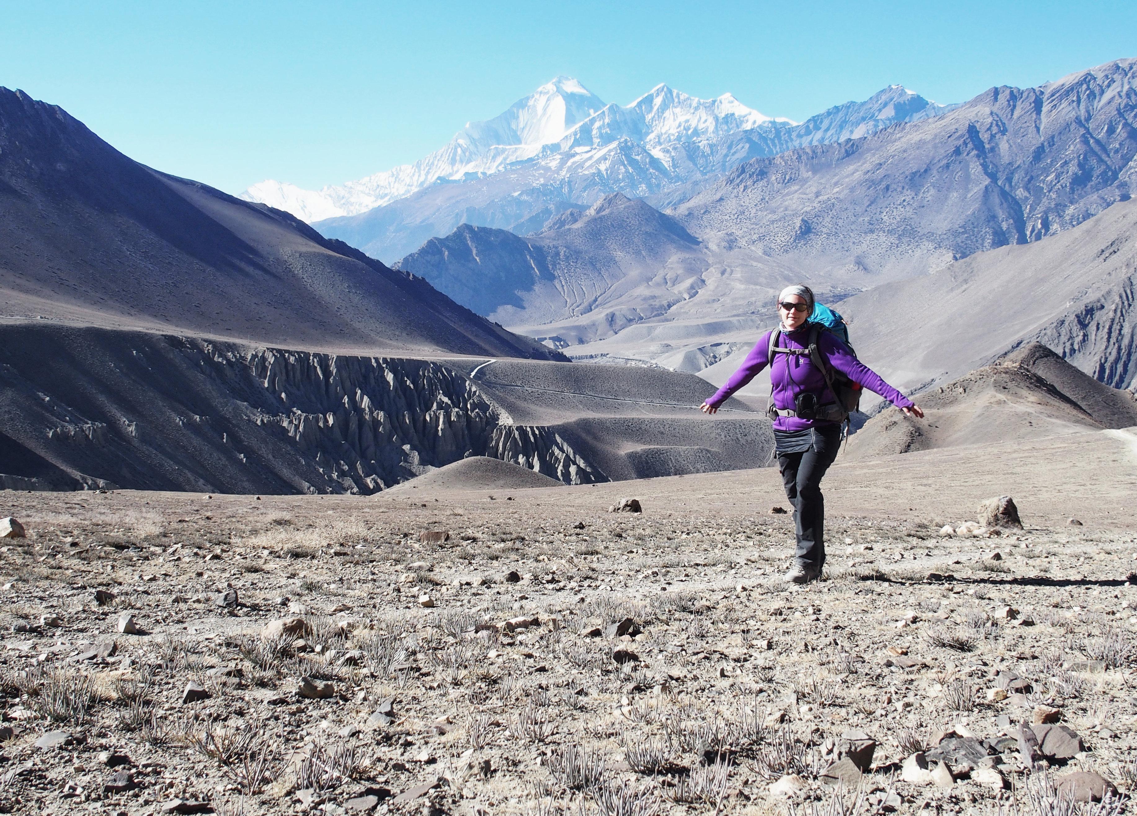 Annapurna Circuit Trekking: Auf dem Weg nach Kagbeni