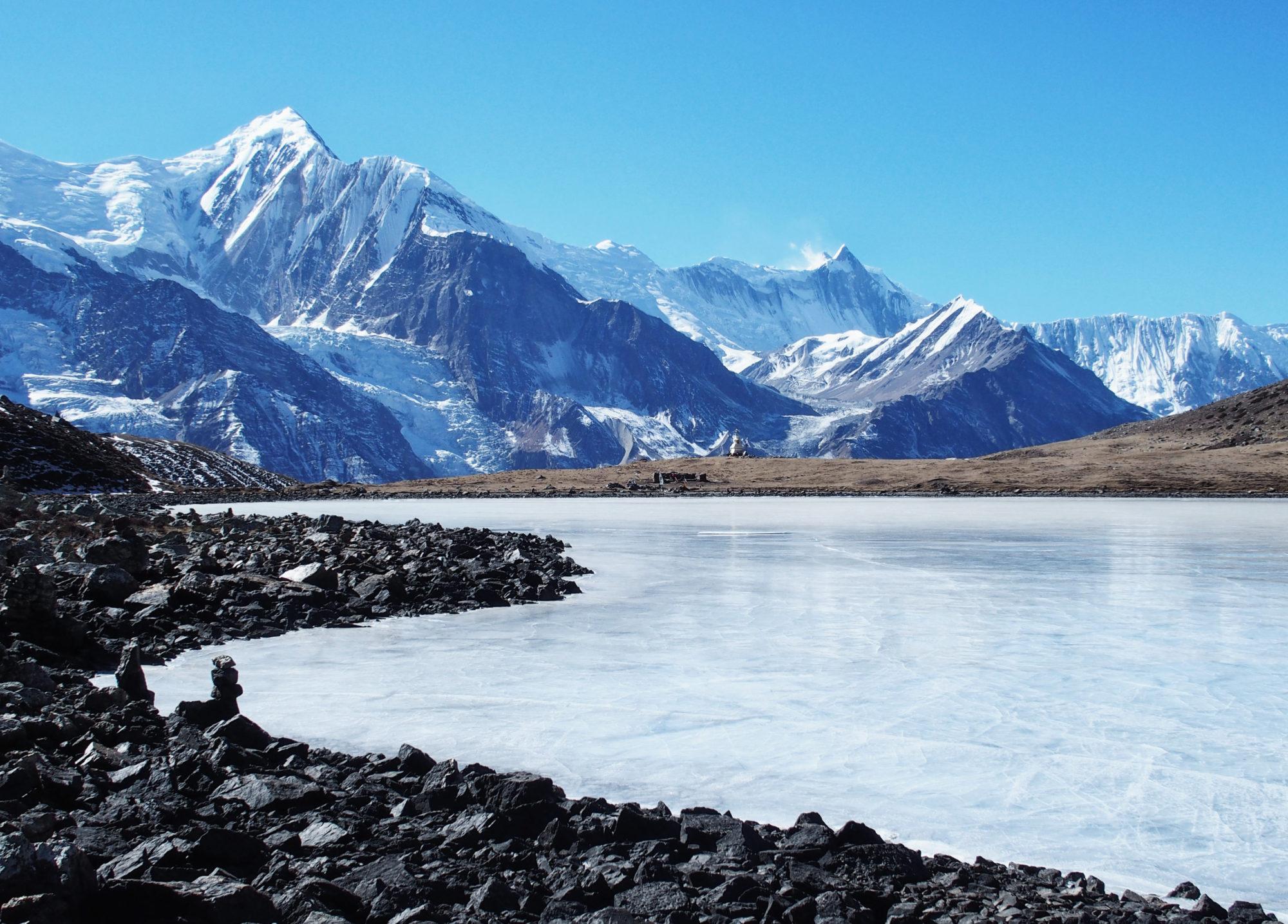 Ice Lake mit Bergpanorama - ein Traum!