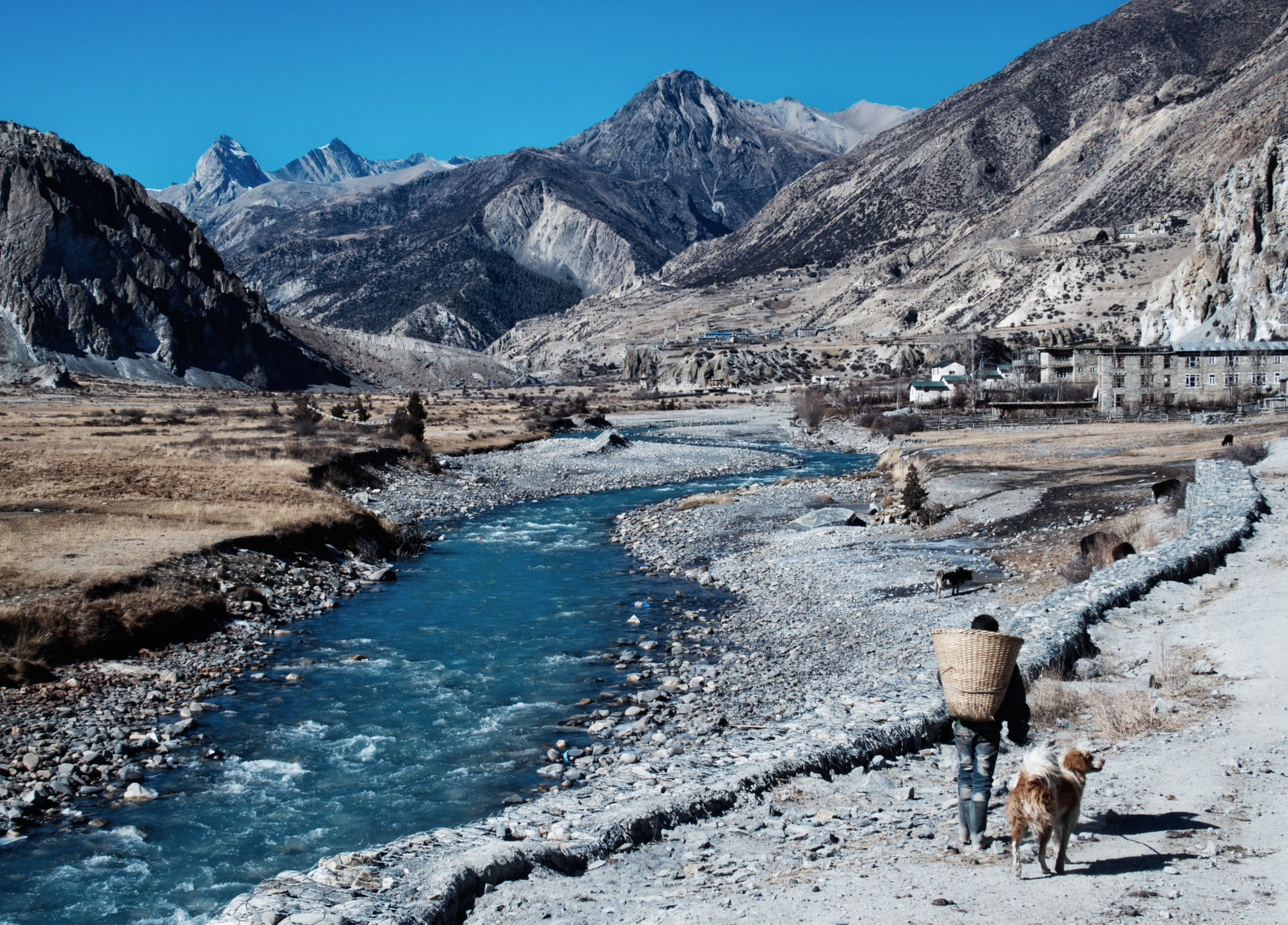 Manang in Sicht