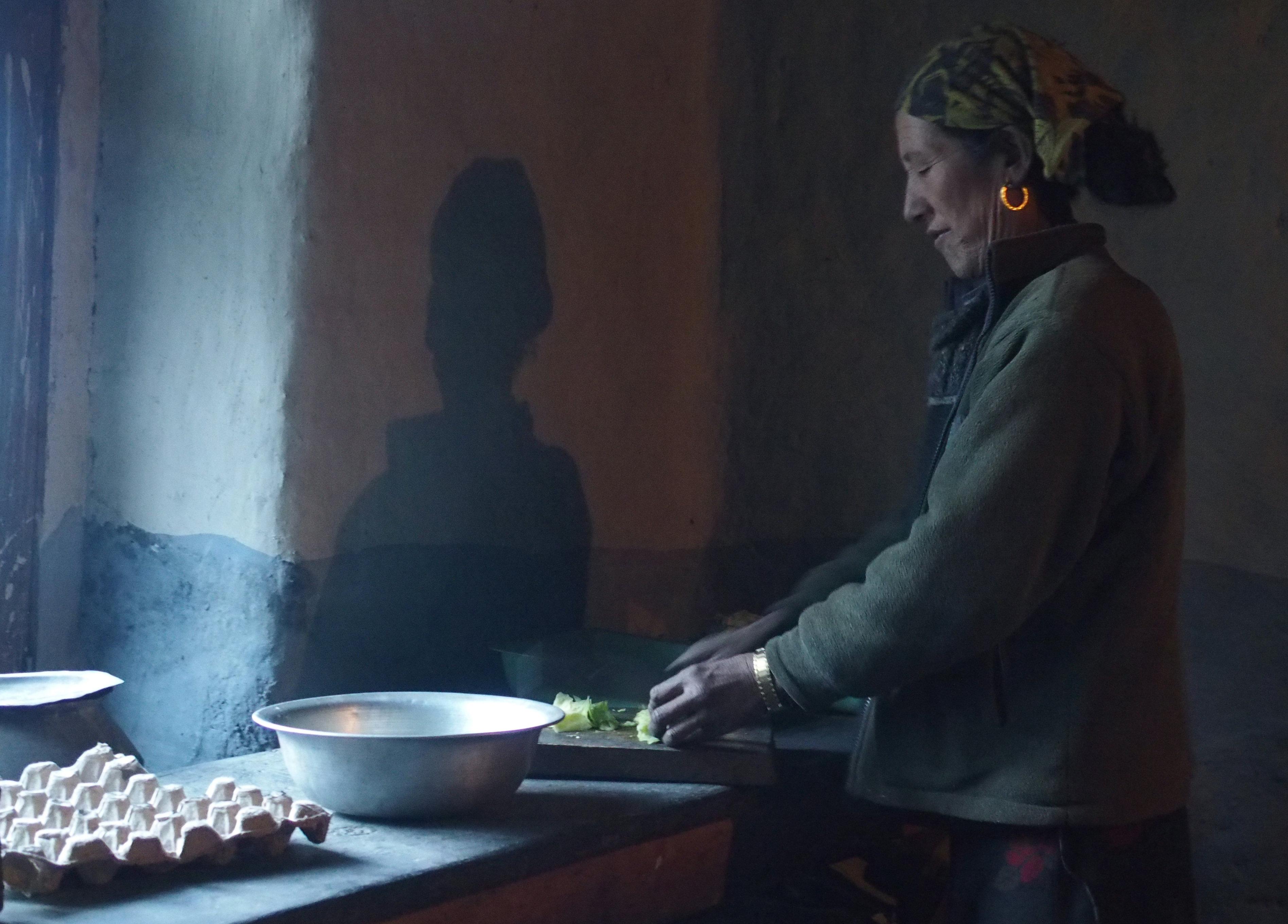 Kochen in Karkasha