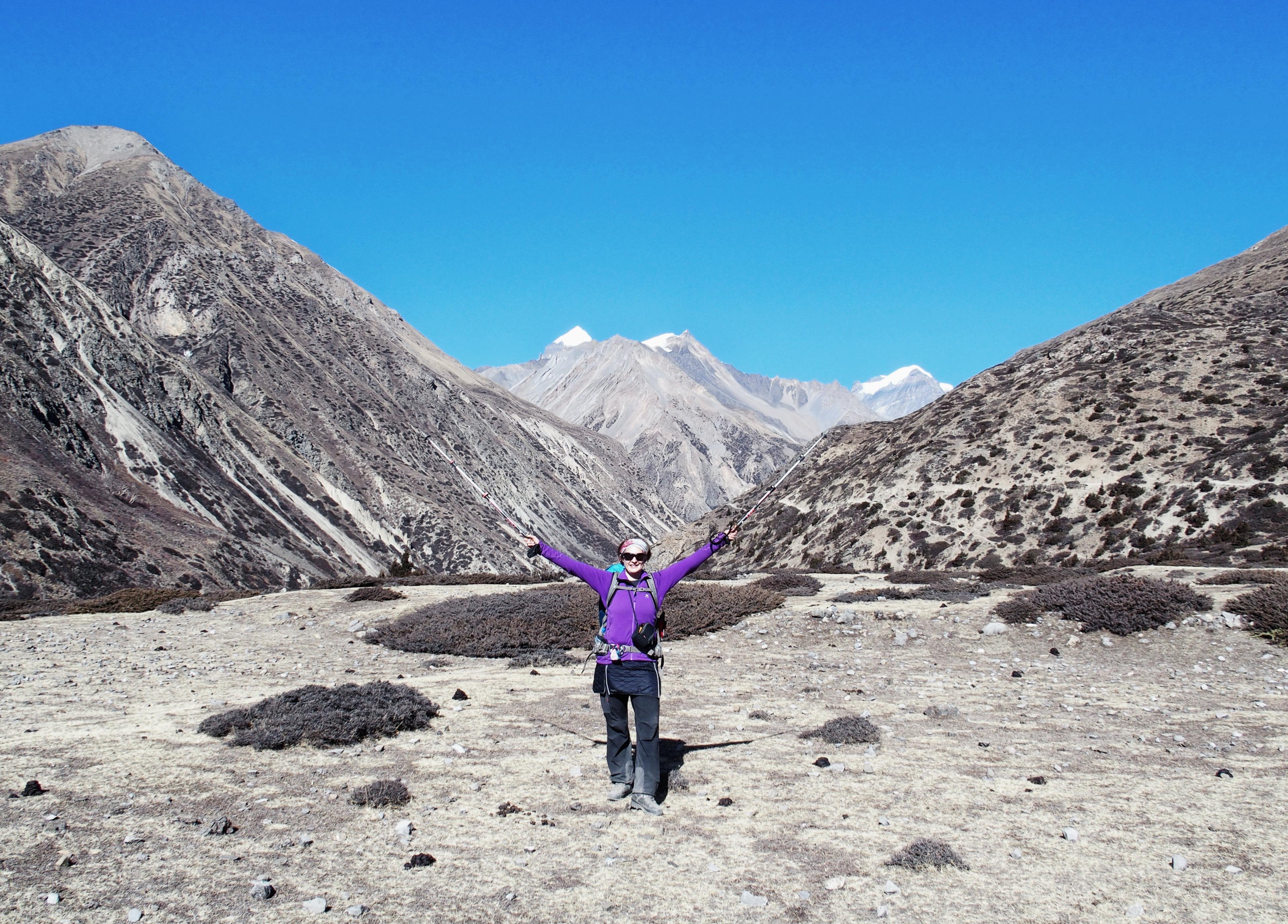 Auf dem Annapurna Circuit