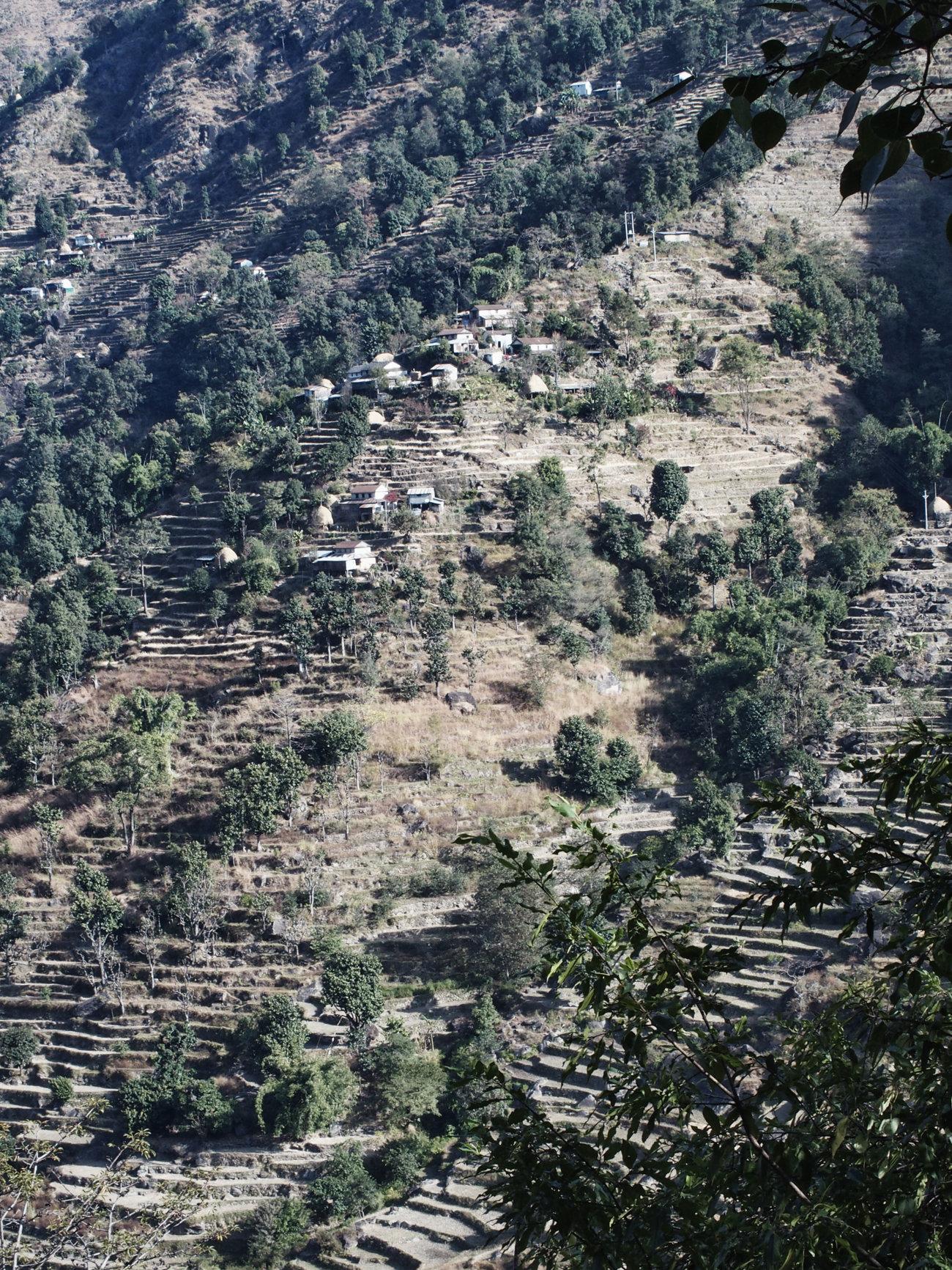 Dörfer am Annapurna Circuit