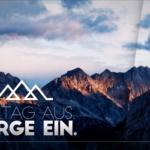 Alltag aus Berge ein Image
