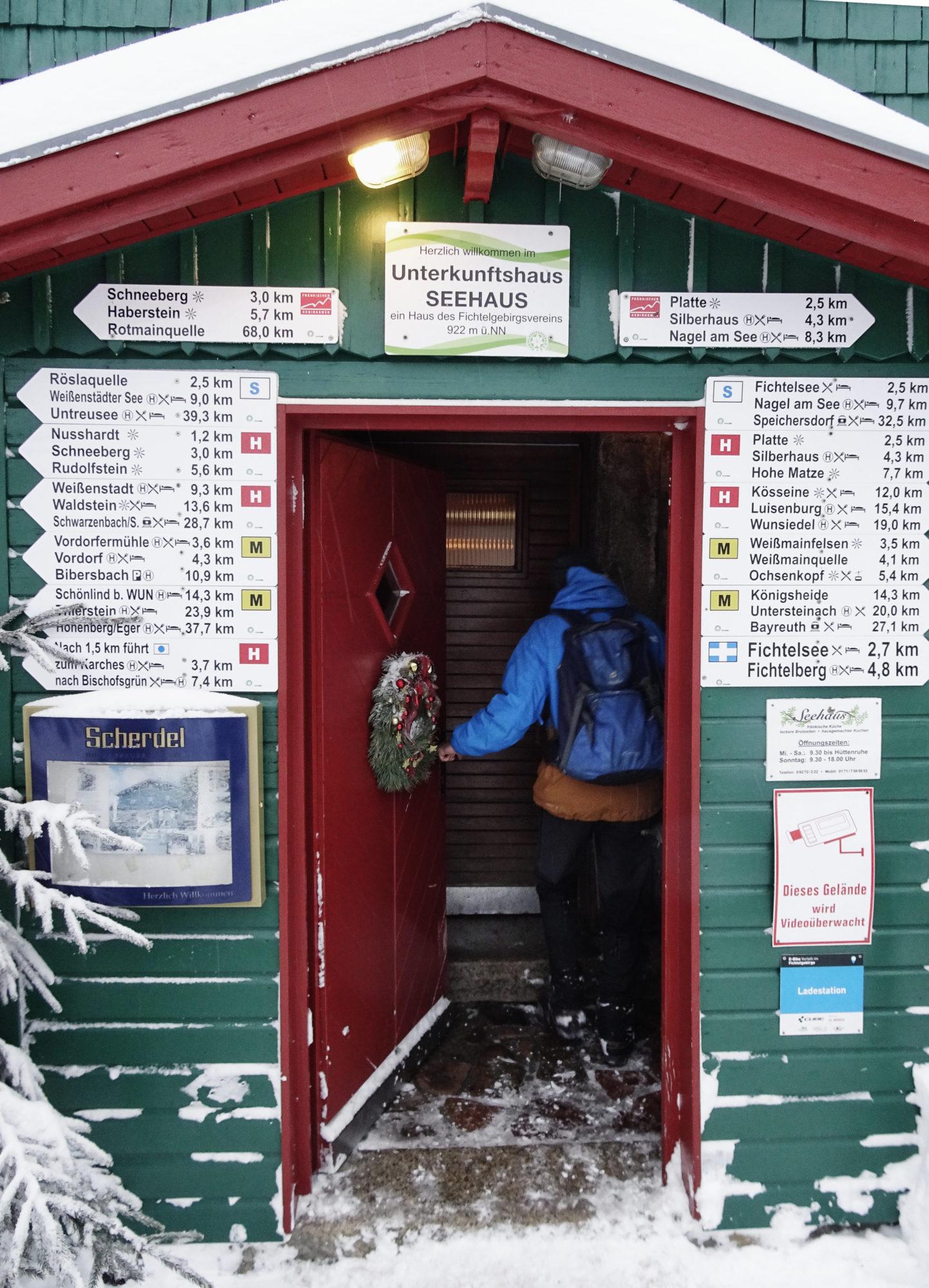 Eingang vom Seehaus