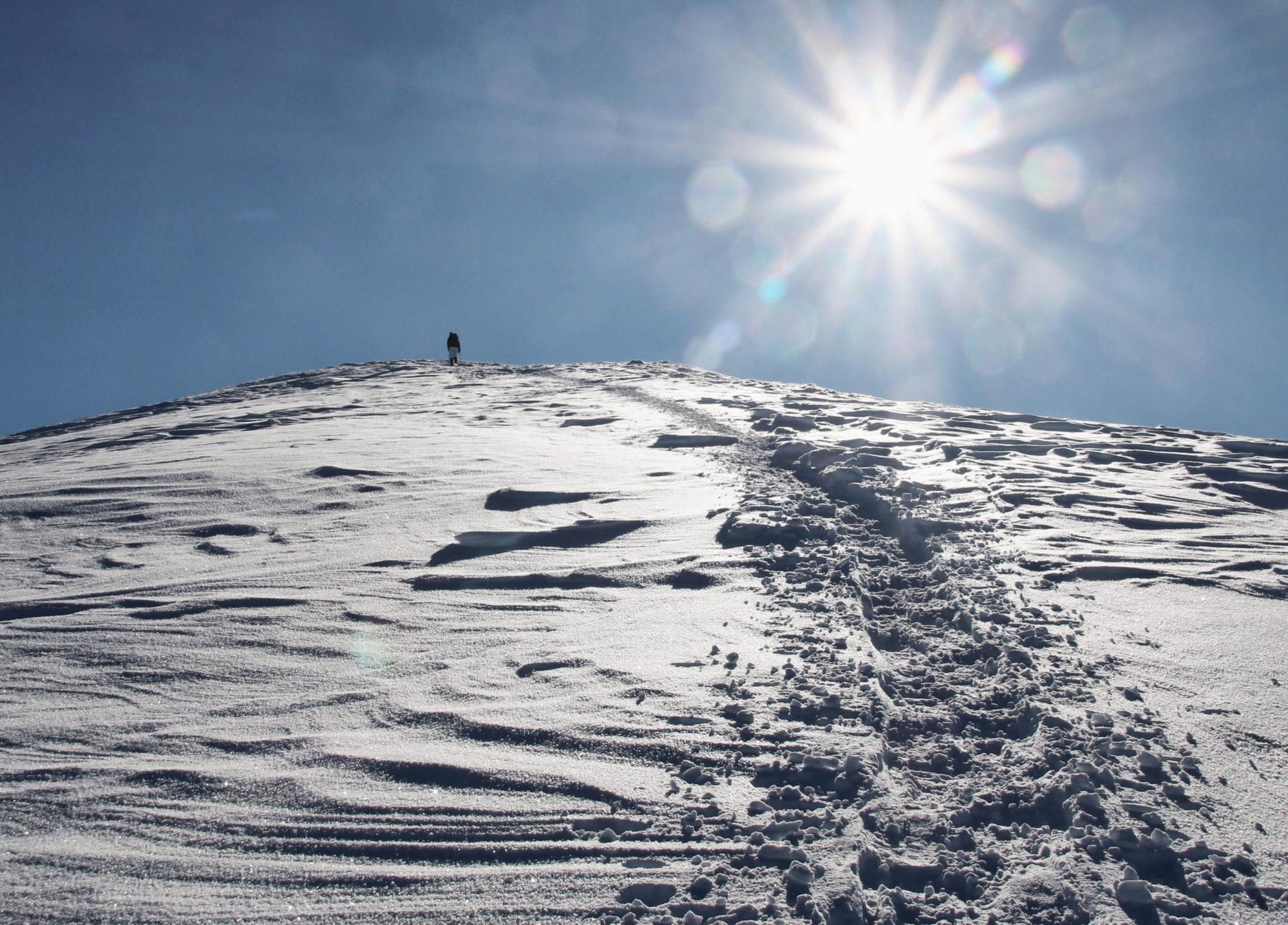 Allerleigrubenspitze im Winter Schneeschuhwandern