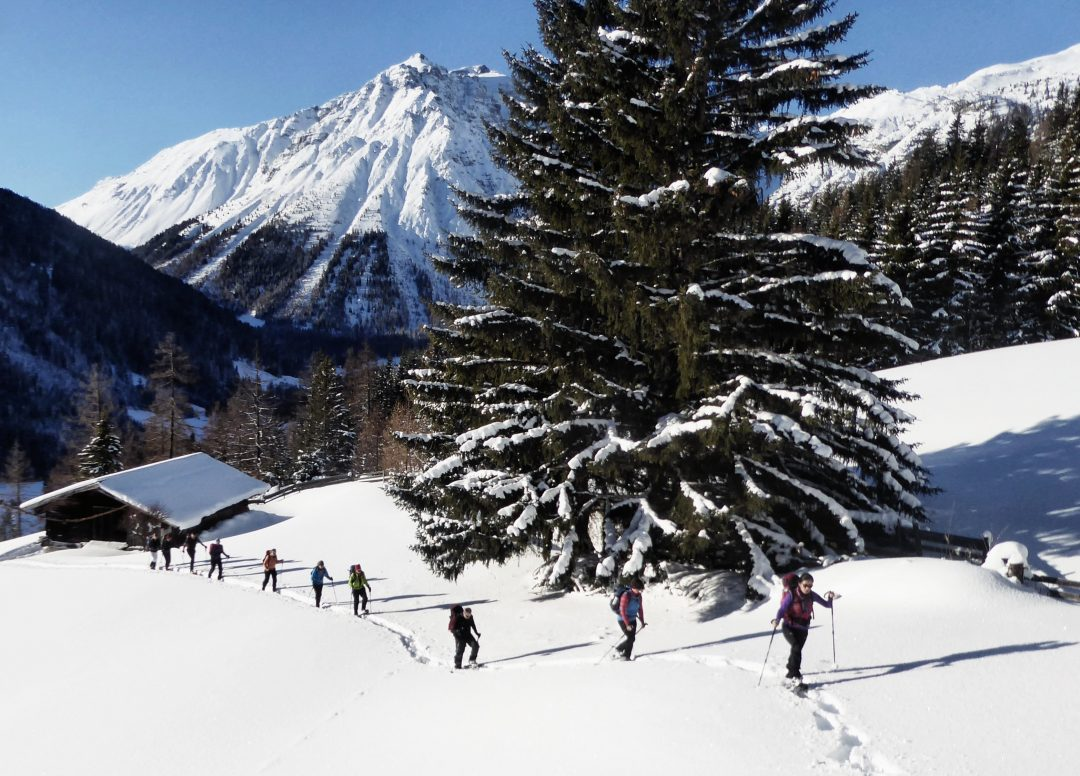 Schneeschuhtour zum Lichtsee