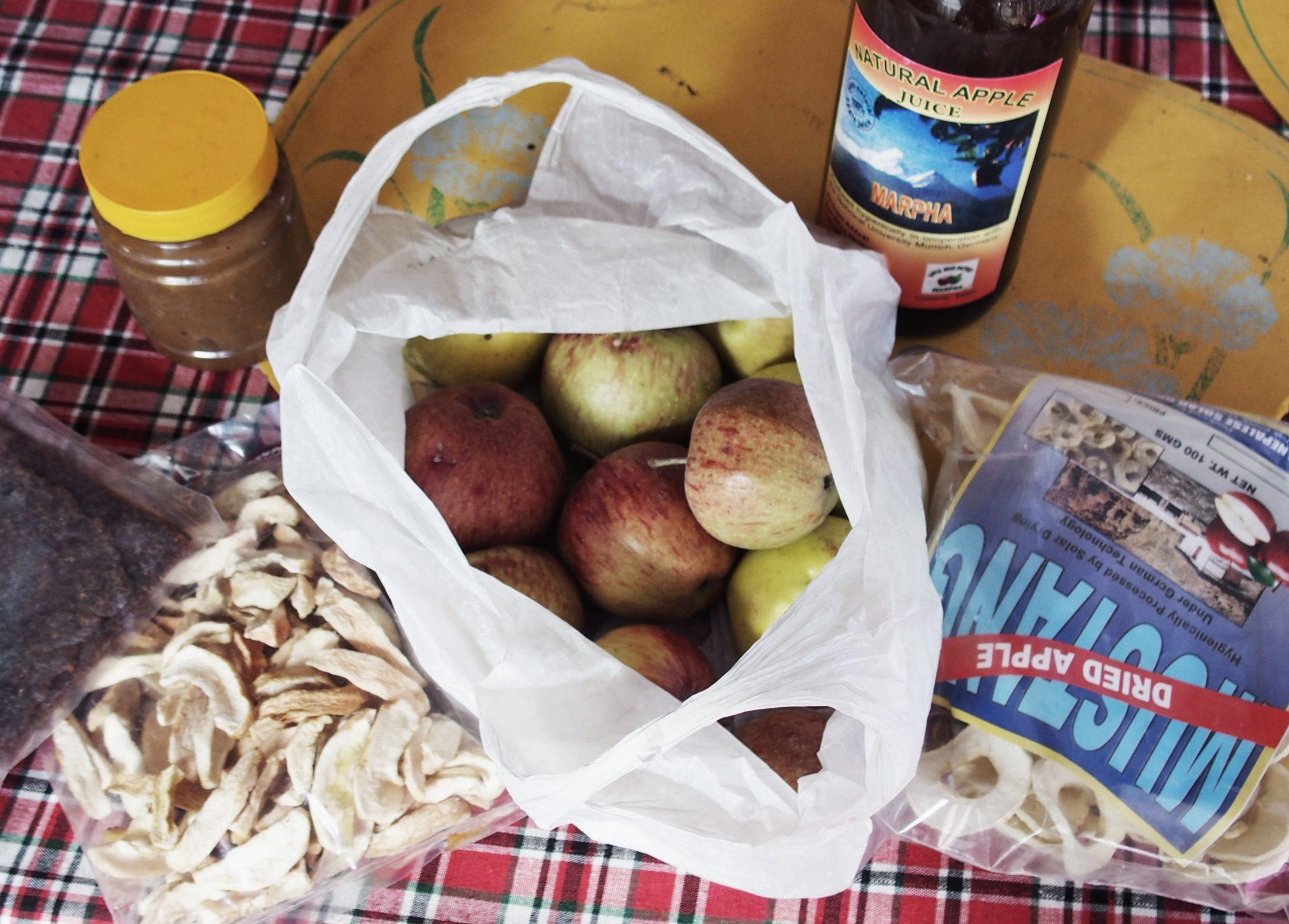 Apfelkollektion aus Marpha