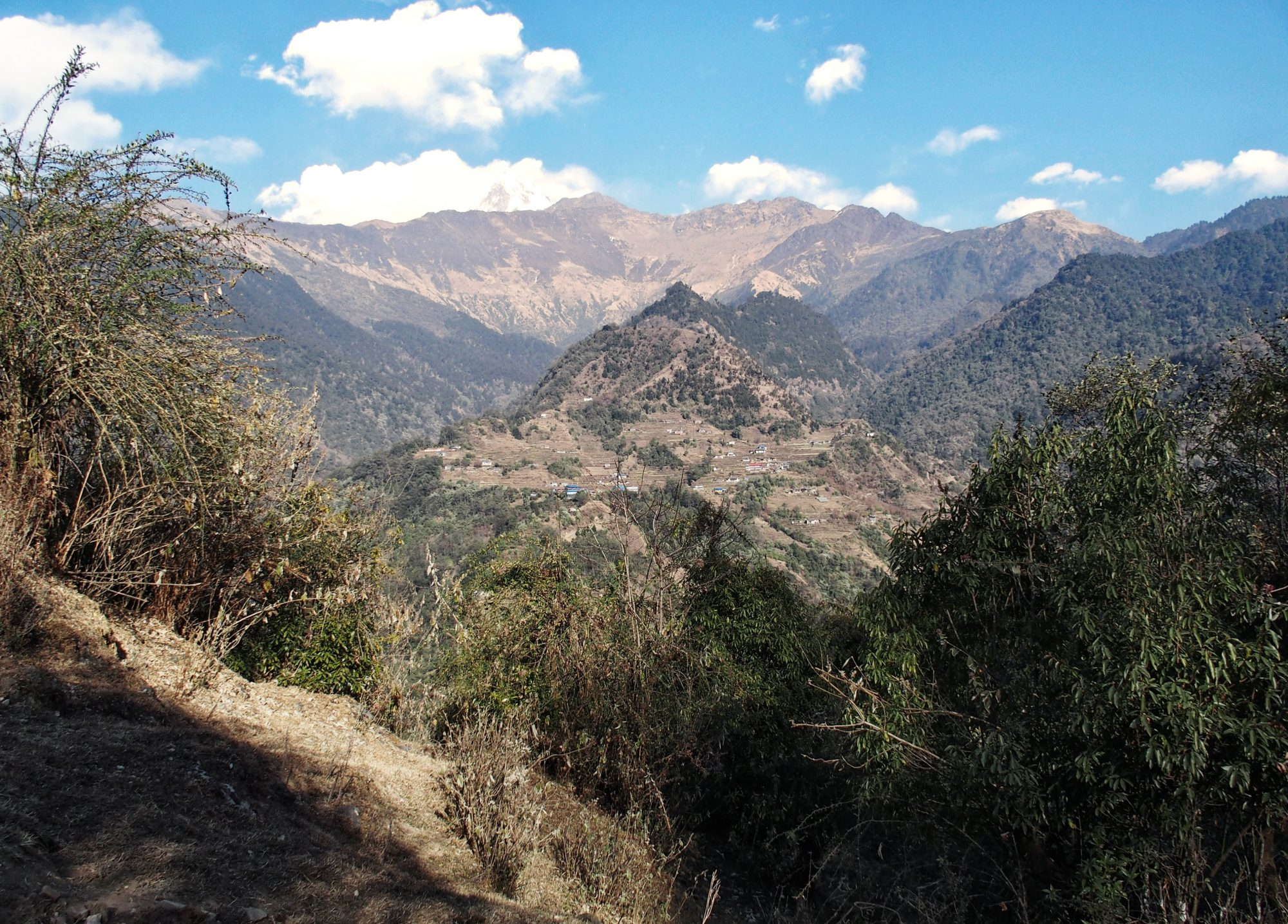 Annapurna Circuit Trekking Ausblick