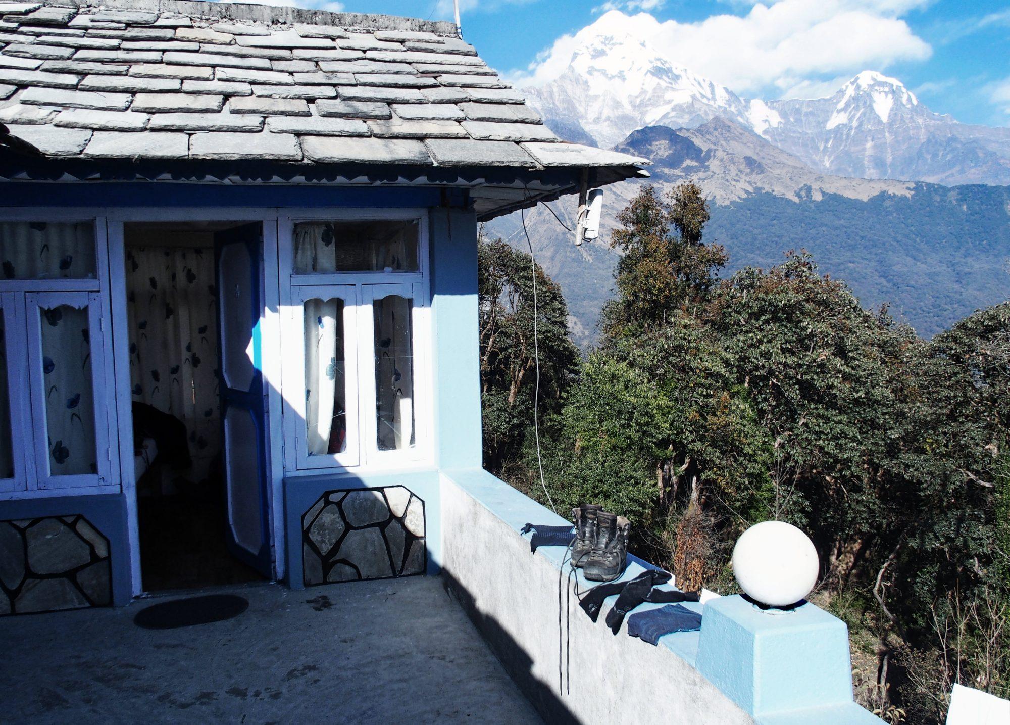 Mein Zimmer mit Aussicht in Tadapani