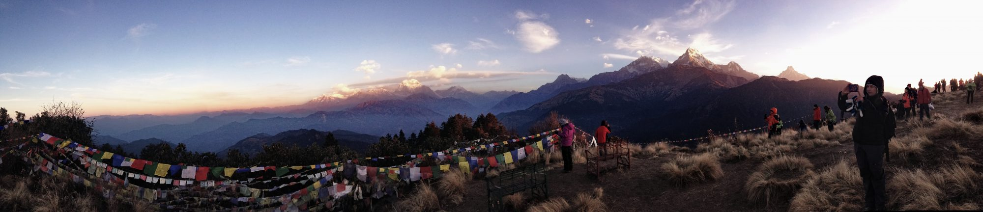 Panorama am Poon Hill