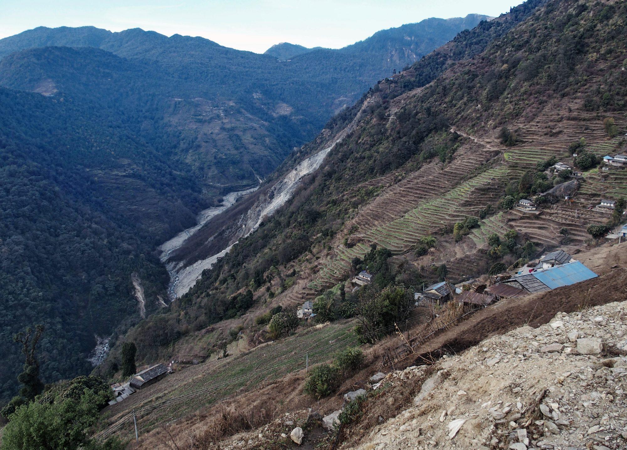 Abstieg Annapurna Base Camp