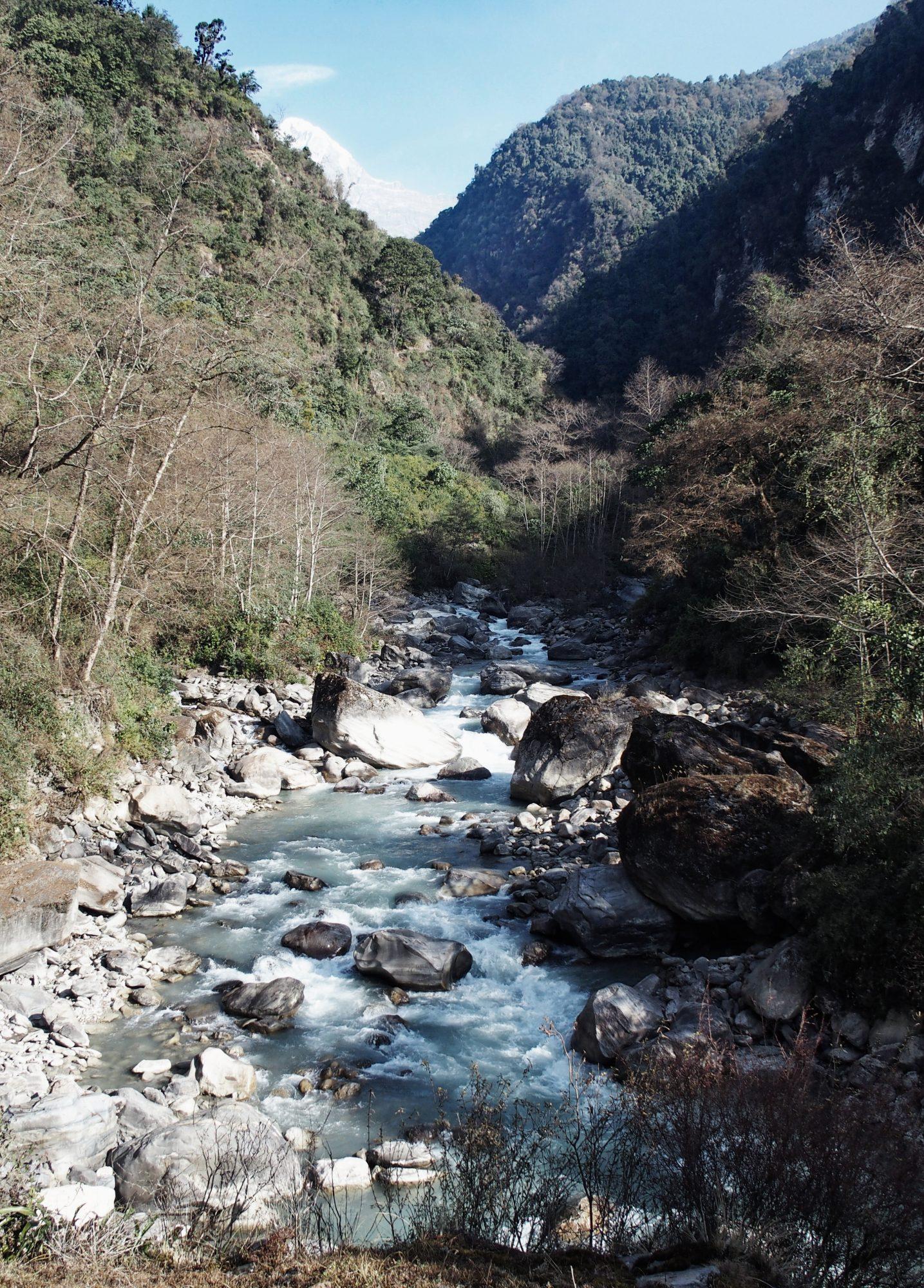 Abstieg Richtung Pokhara