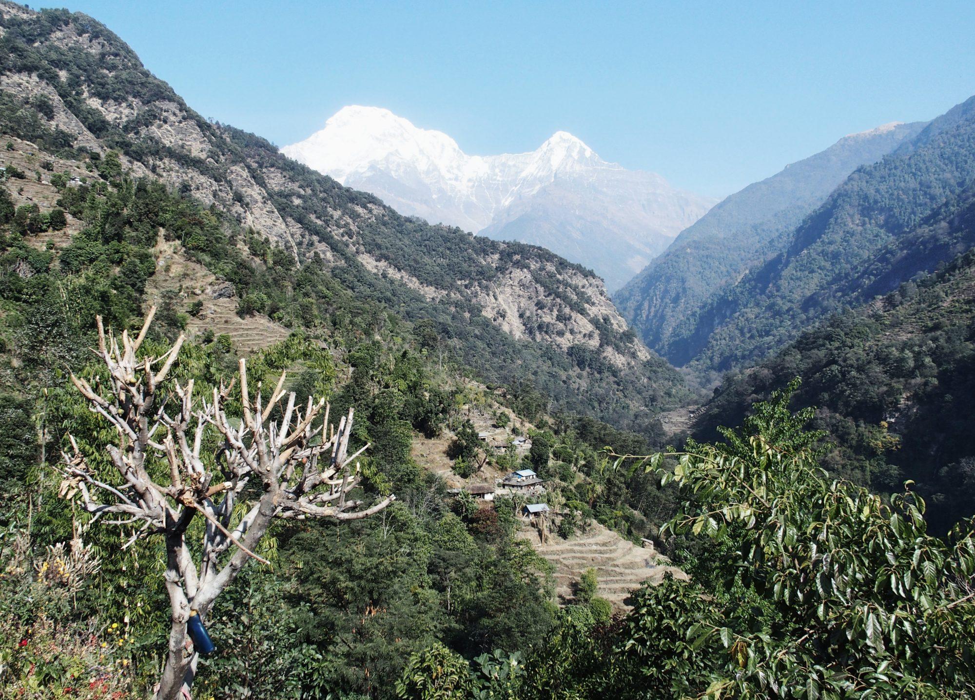 Annapurna Base Camp Trail Richtung Siwar