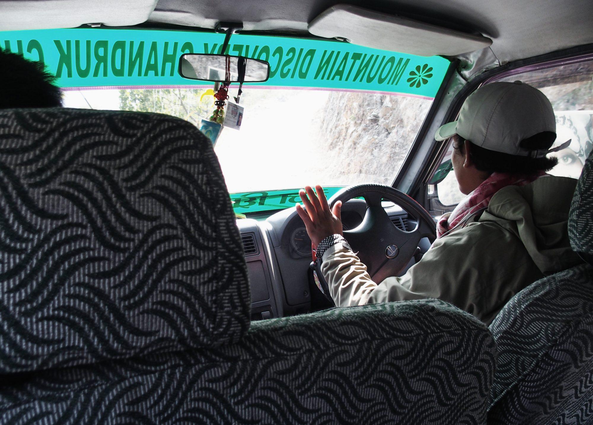 Jeepfahrt nach Pokhara