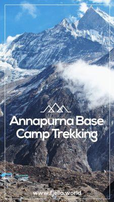Annapurna Base Camp Trekking Erfahrungsbericht. Nepal