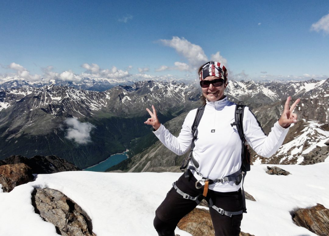 Similaun Ötztaler Alpen Wanderung Berg