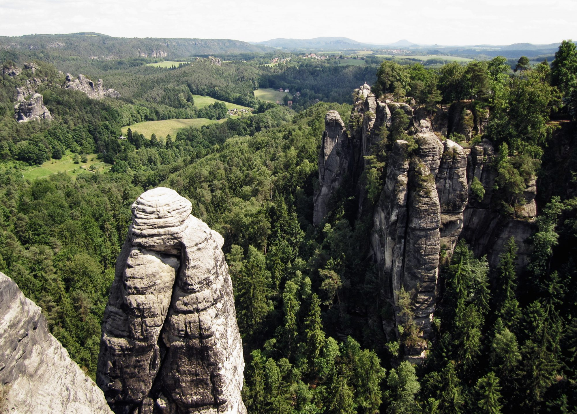 Malerweg Sächsische Schweiz Wanderung Erzgebirge
