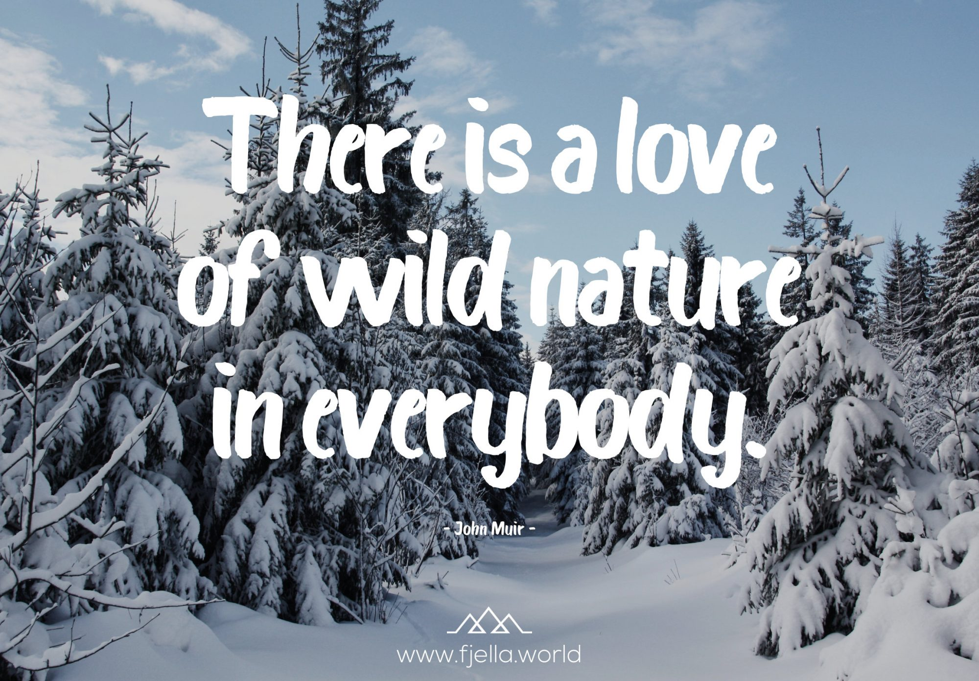 There is a love of wild nature in everybody
