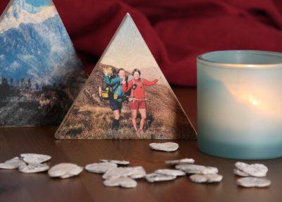 DIY Bergfoto auf Holz - Valentinstag - Geschenkidee, Valentinstagsgeschenk, Geburtstagsgeschenk, Bergfreunde, Wanderer, Kletterer,