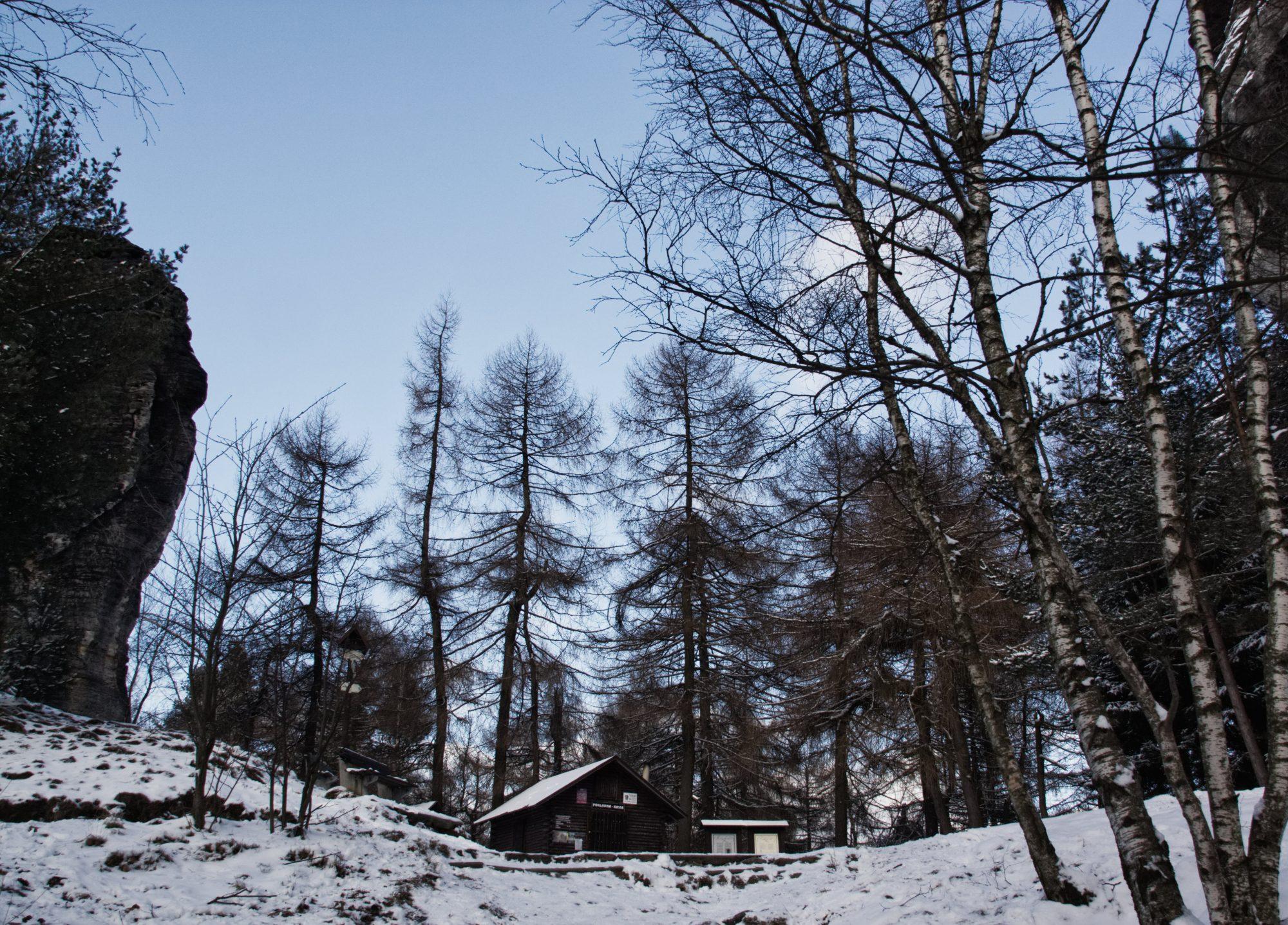 Sächsische Schweiz, Elbsandsteingebirge, Tissa, Tissa Wände, Böhmische Schweiz, Winter, Wandern