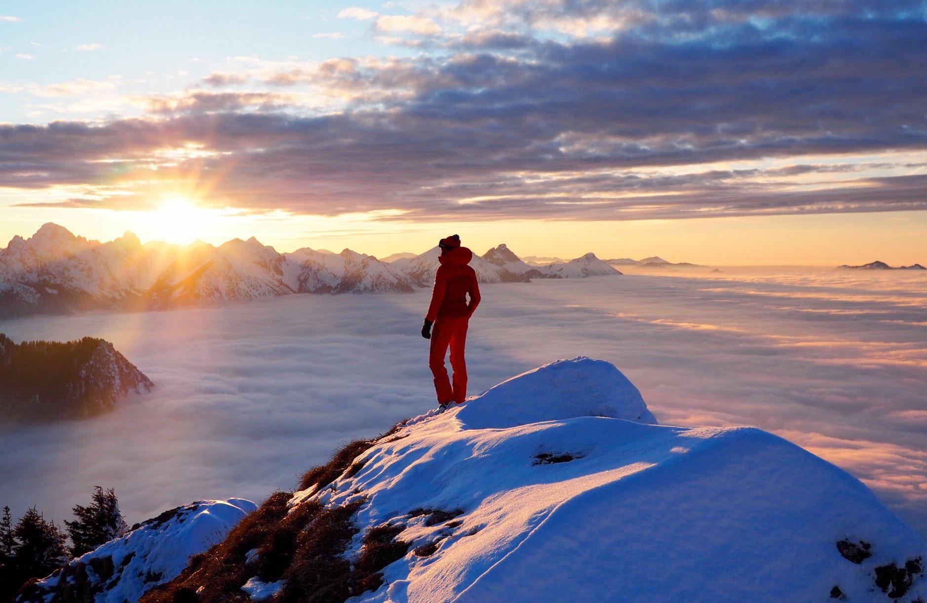 Lieblingsberg, Tegelberg, Allgäu, Klettern, Wandern, Skifahren