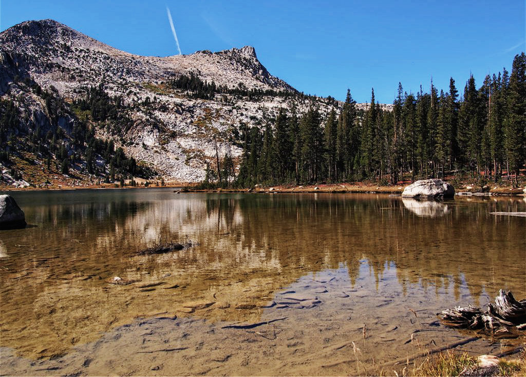 Yosemite, USA, Lake Elisabeth, Wandern, Unicorn Peak