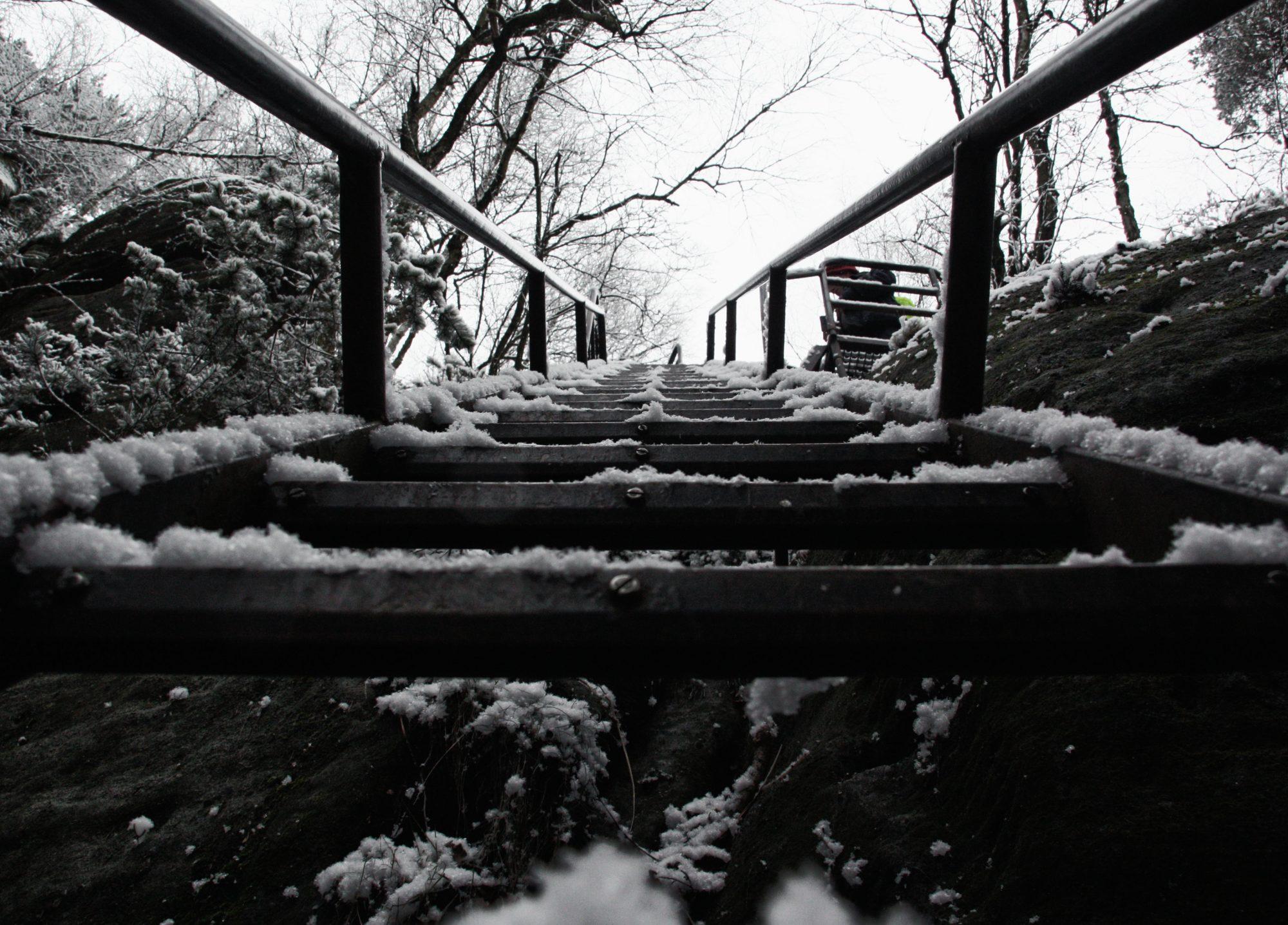 Aufstieg, Elbsandsteingebirge, Sächsische Schweiz, Wandern, Wandertour