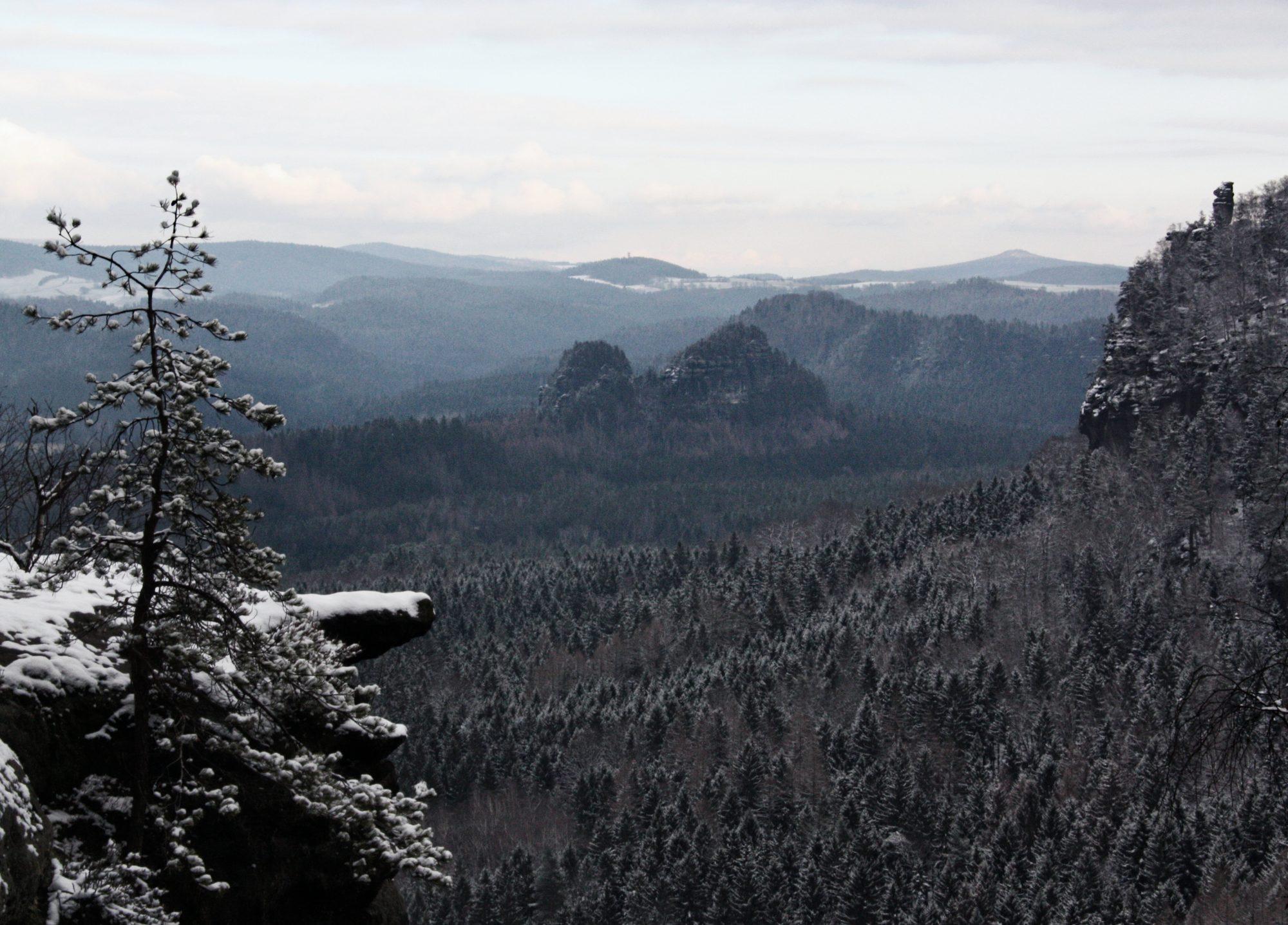 Idagrotte, Elbsandsteingebirge, Sächsische Schweiz, Wandern, Wandertour