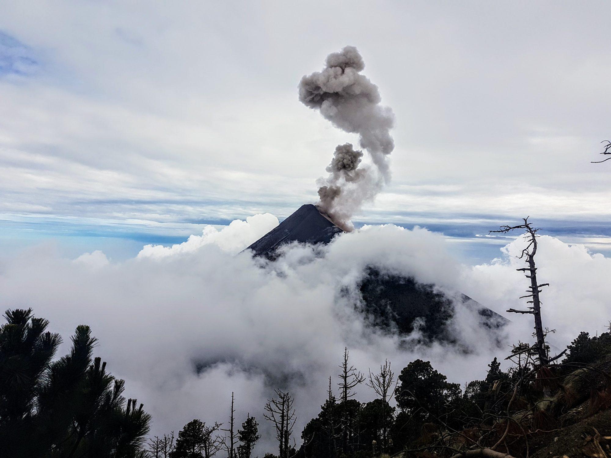 Volcán de Fuego Guatemala Lieblingsberg Fjella Berge Wandern