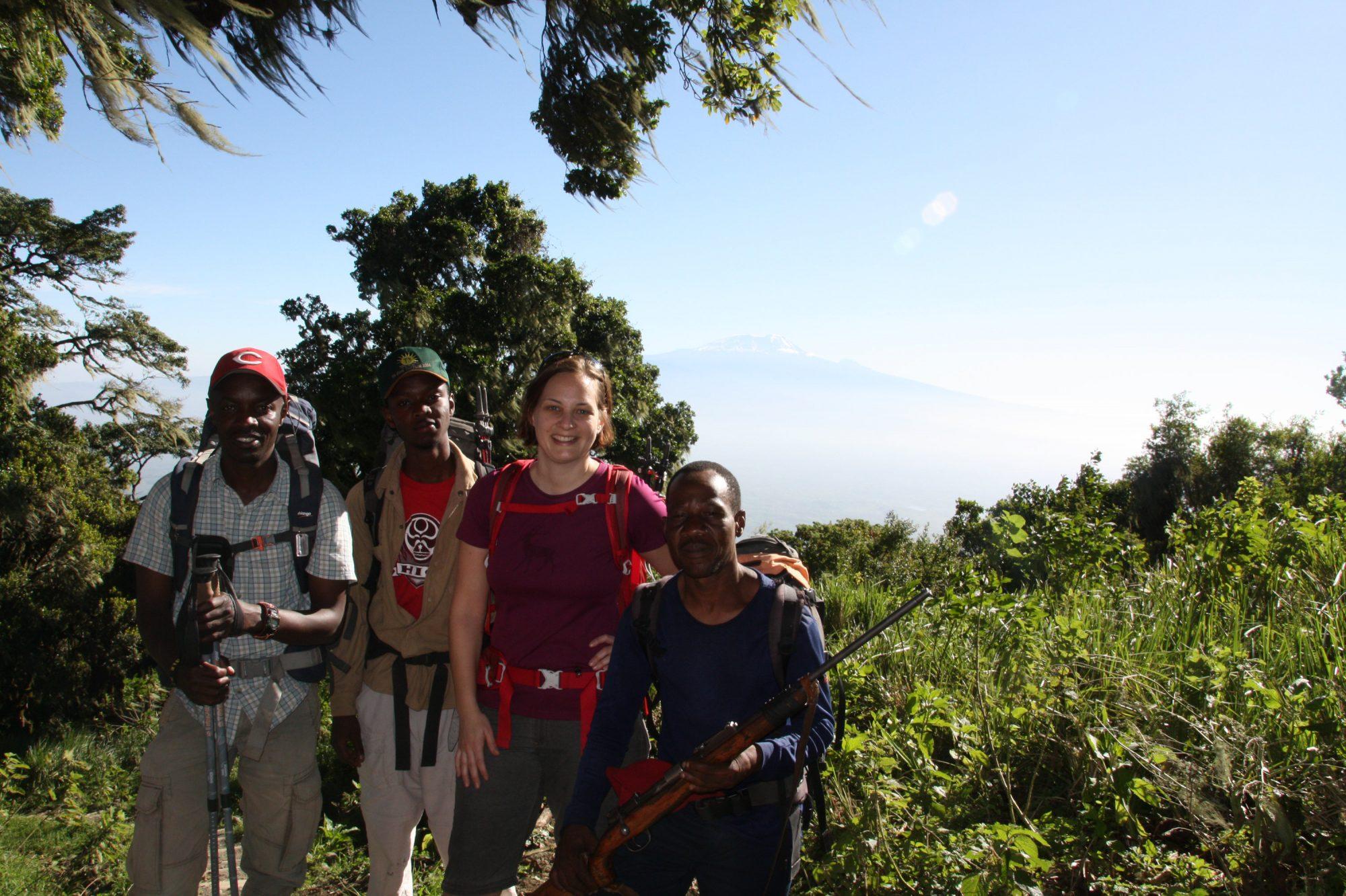 Am Mount Meru, Regenwald, Arusha Nationalpark, Tansania, Afrika