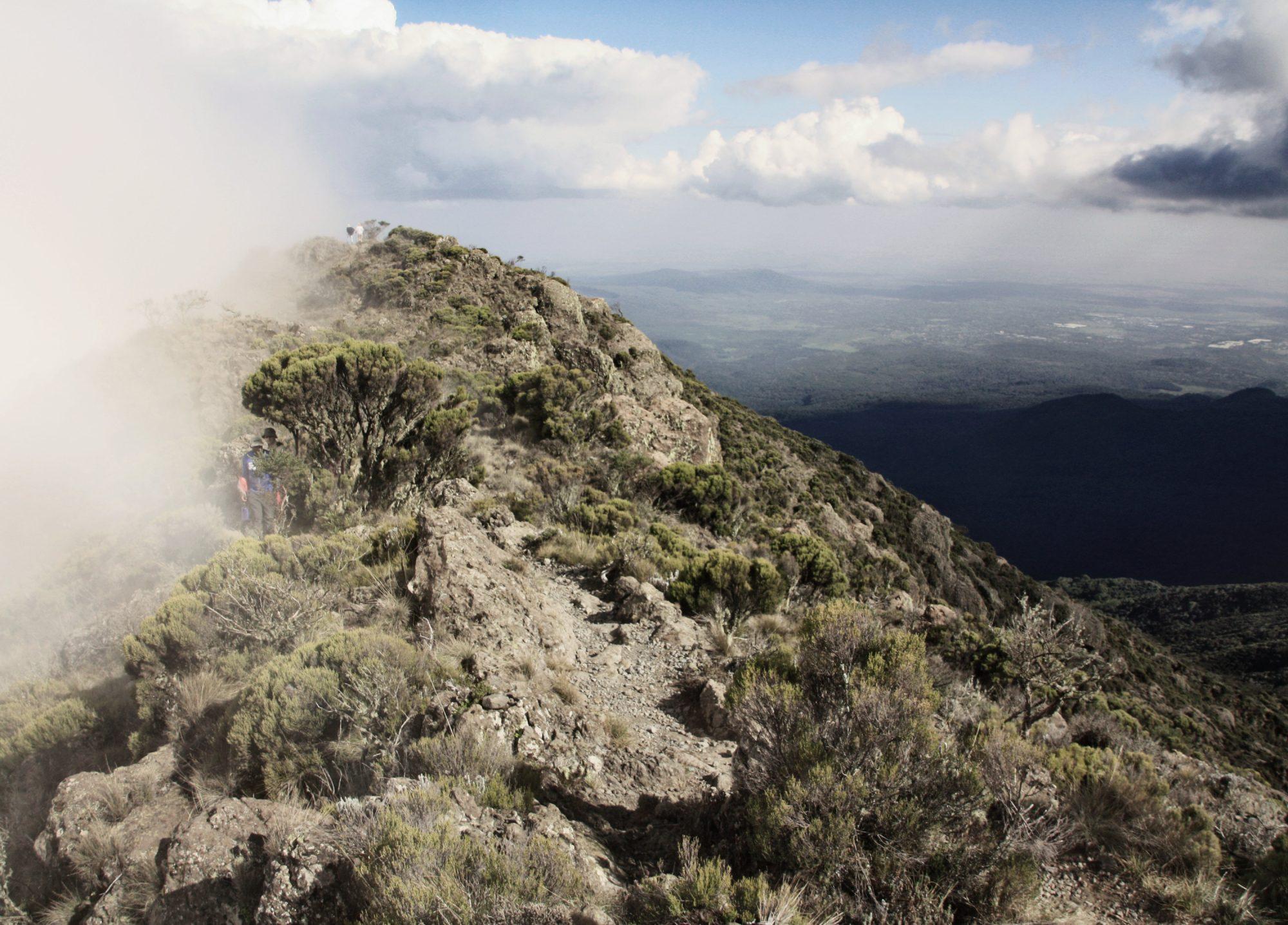 Little Meru, Mount Meru, Regenwald, Arusha Nationalpark, Tansania, Afrika