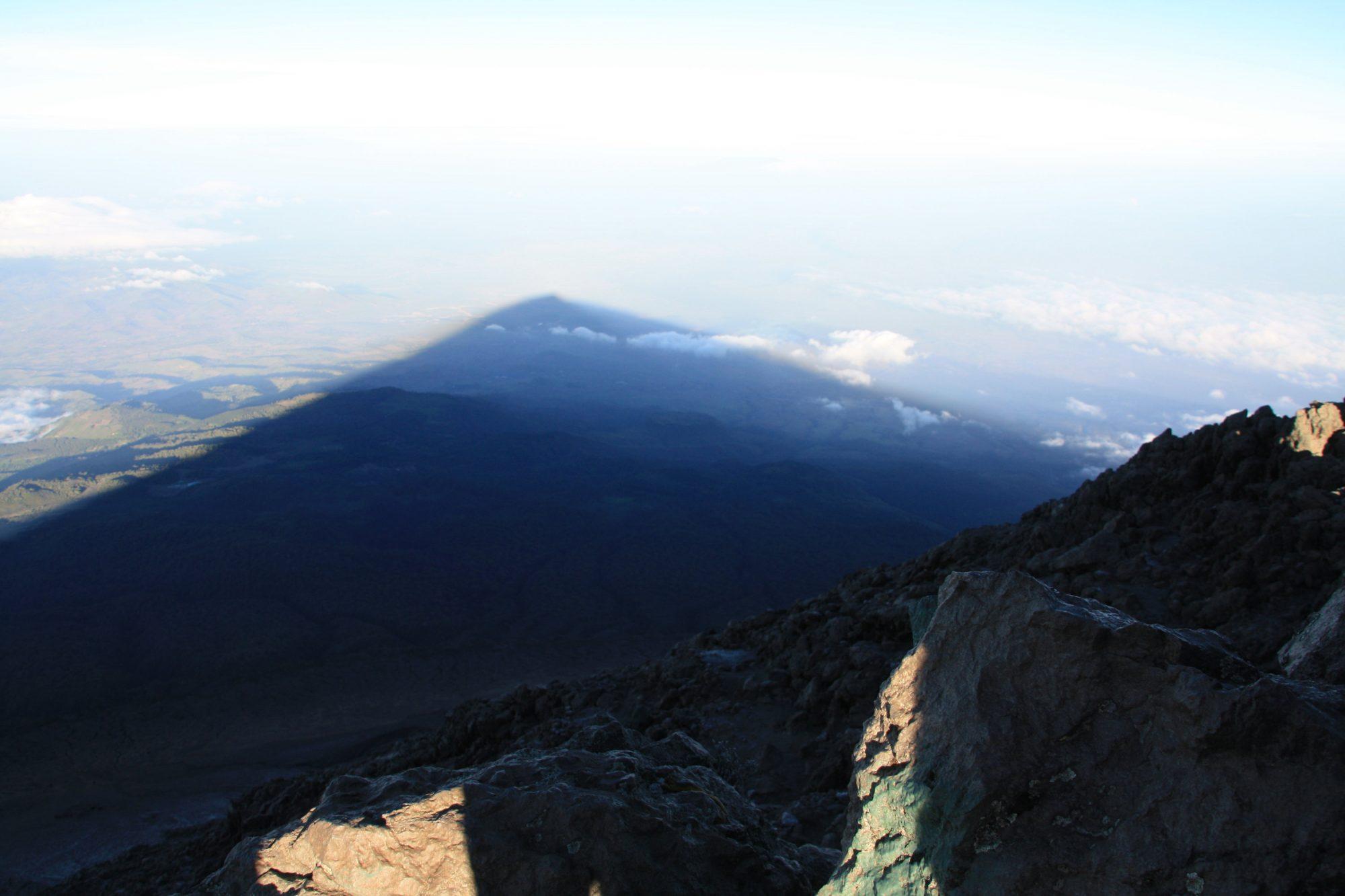 Der Schatten des Mount Meru, Mount Meru Besteigung, Tour, Erfahrungsbericht, Afrika, Tansania, Bergtour