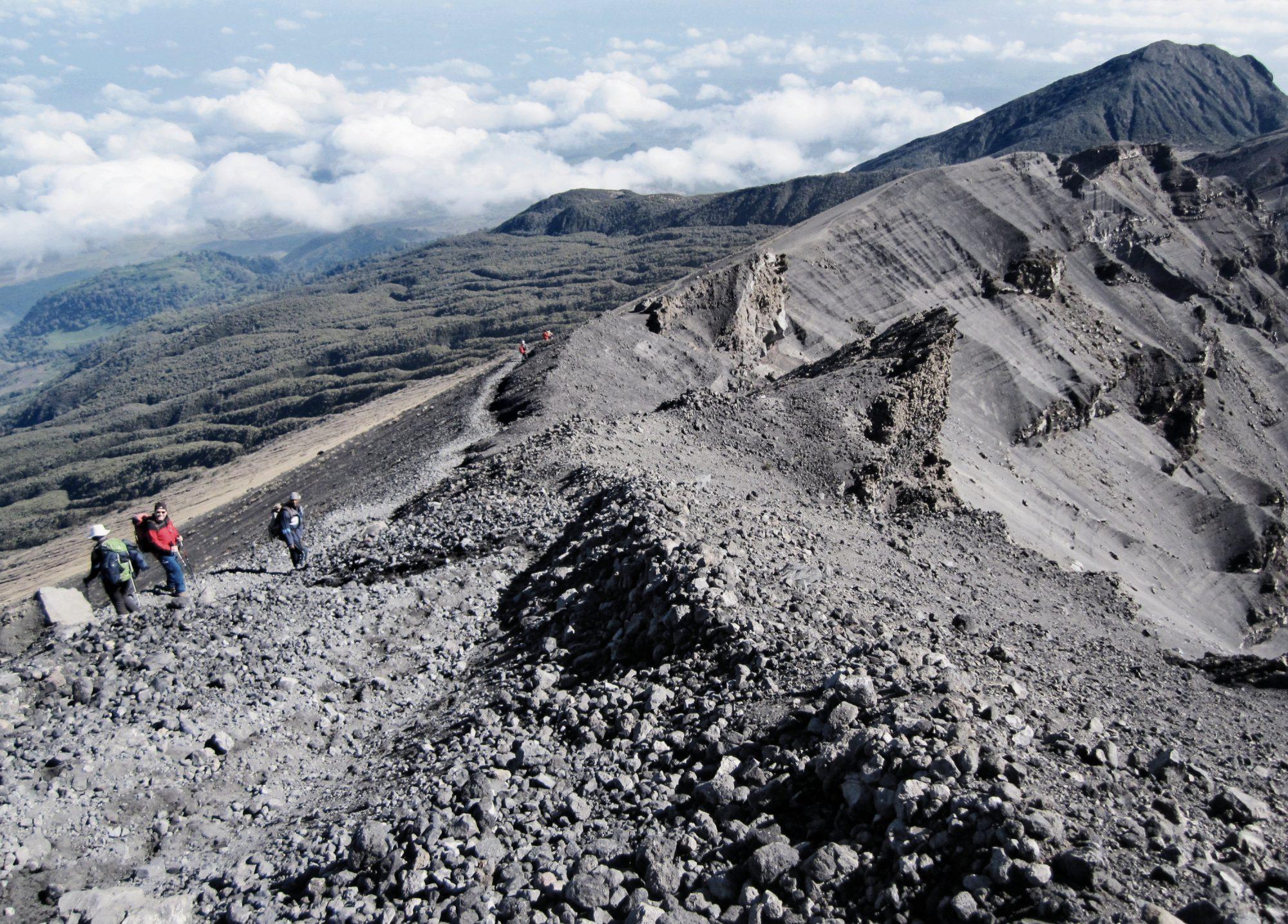 Wanderweg Mount Meru, Mount Meru Besteigung, Tour, Erfahrungsbericht, Afrika, Tansania, Bergtour