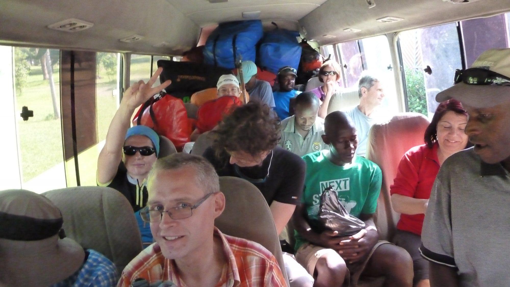 Fahrt zum Machame Gate, Kilimandscharo besteigen, Tansania, Afrika, Kilimandscharo Erfahrungsbericht