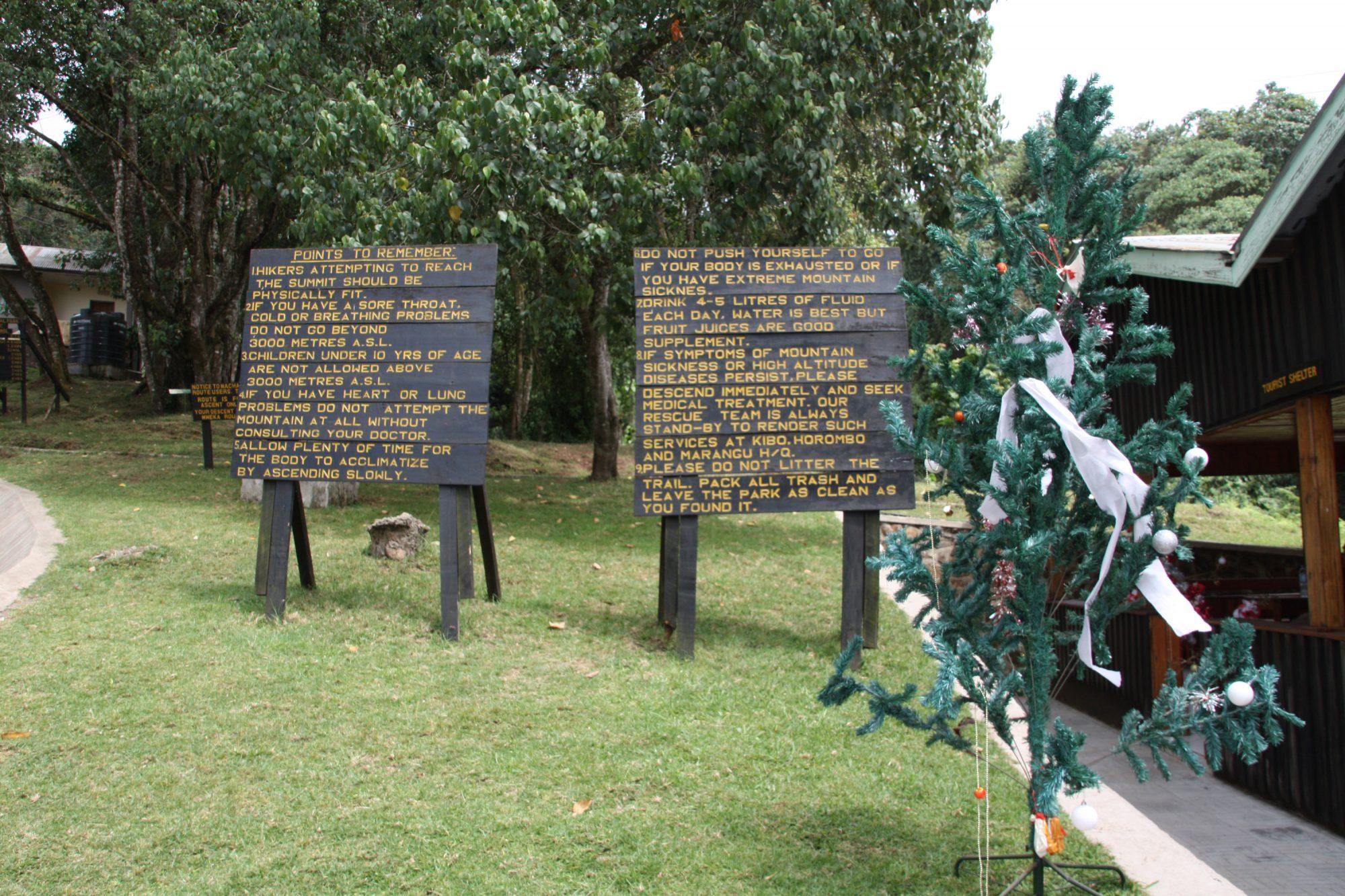 Machame Gate, Regeln, Kilimandscharo, Kilimandscharo besteigen, Tansania, Afrika, Kilimandscharo Tour, Erfahrungsbericht, Machame Route