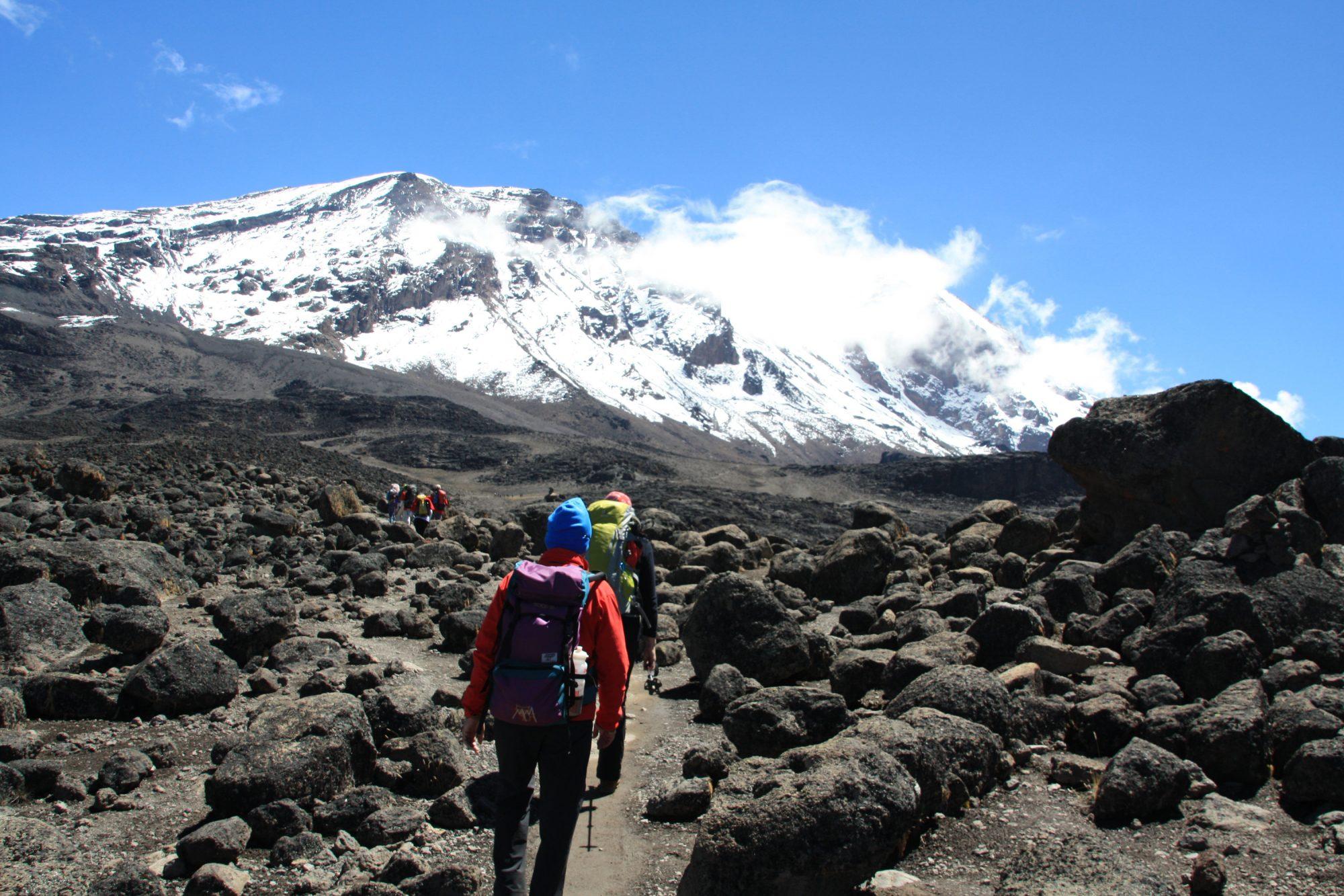 Lavawüste, Kilimandscharo, Kilimandscharo besteigen, Tansania, Afrika, Kilimandscharo Tour, Erfahrungsbericht, Machame Route