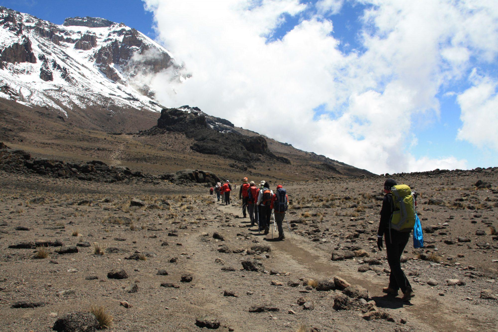 Vulkanlandschaft, Kilimandscharo, Kilimandscharo besteigen, Tansania, Afrika, Kilimandscharo Tour, Erfahrungsbericht, Machame Route