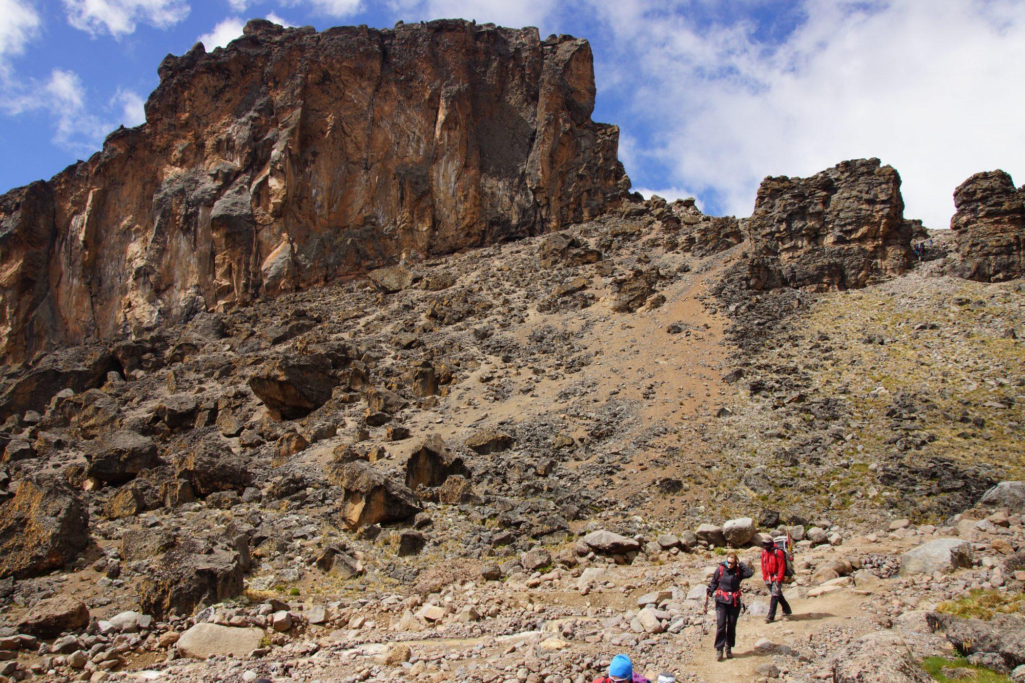 Lava Tower, Kilimandscharo, Kilimandscharo besteigen, Tansania, Afrika, Kilimandscharo Tour, Erfahrungsbericht, Machame Route