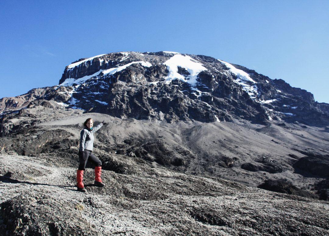 Blick auf den Kibo, Kilimandscharo, Kilimandscharo besteigen, Tansania, Afrika, Kilimandscharo Tour, Erfahrungsbericht, Machame Route